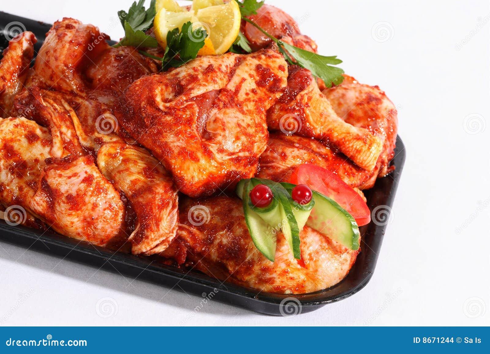 BBQ de poulet