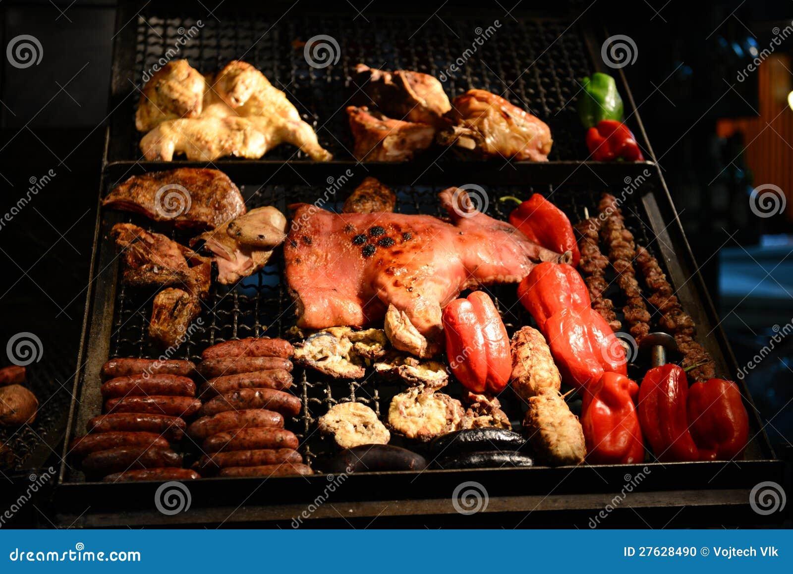 BBQ i Montevideo i Uruguay