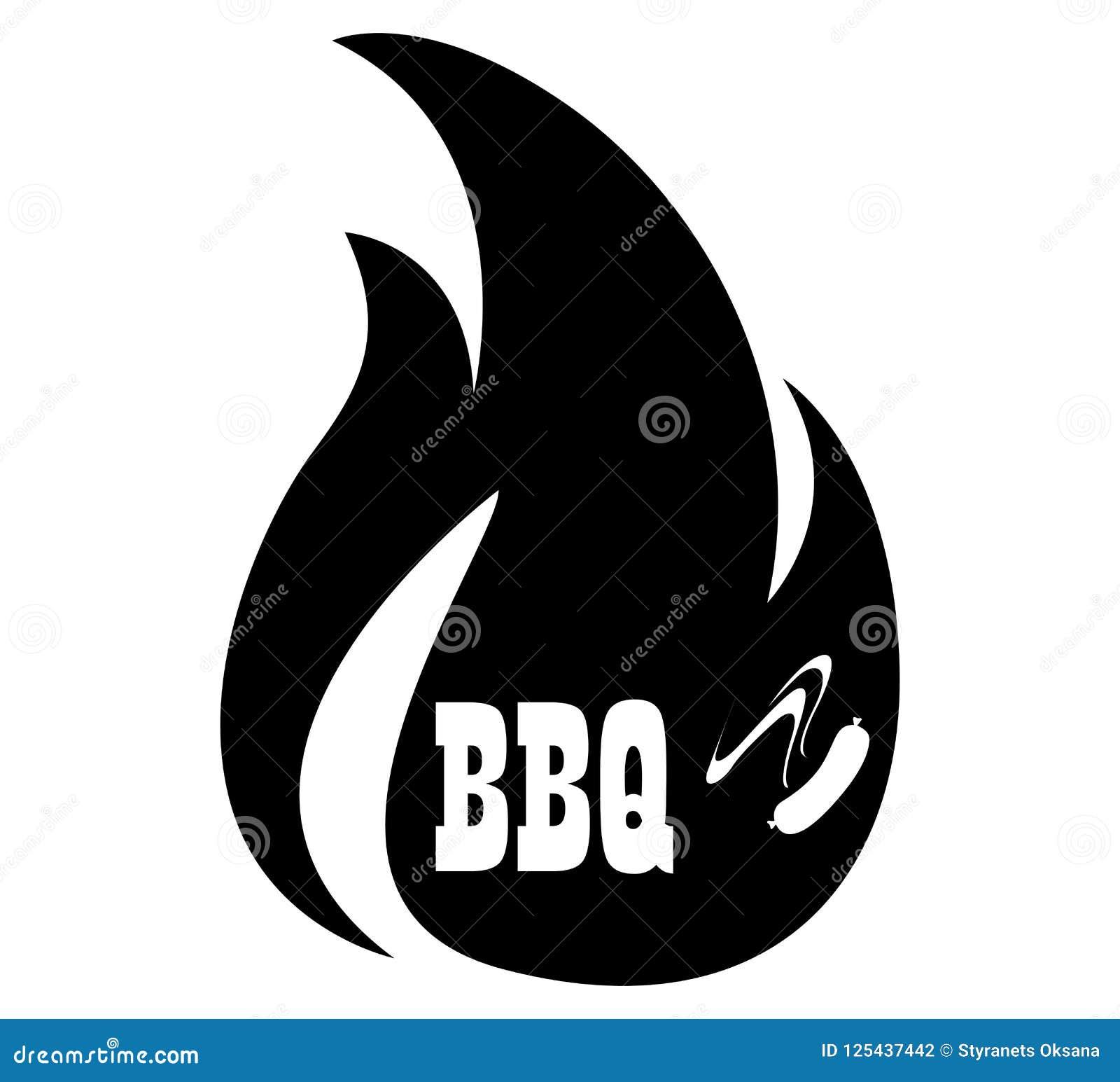 BBQ ikony logo