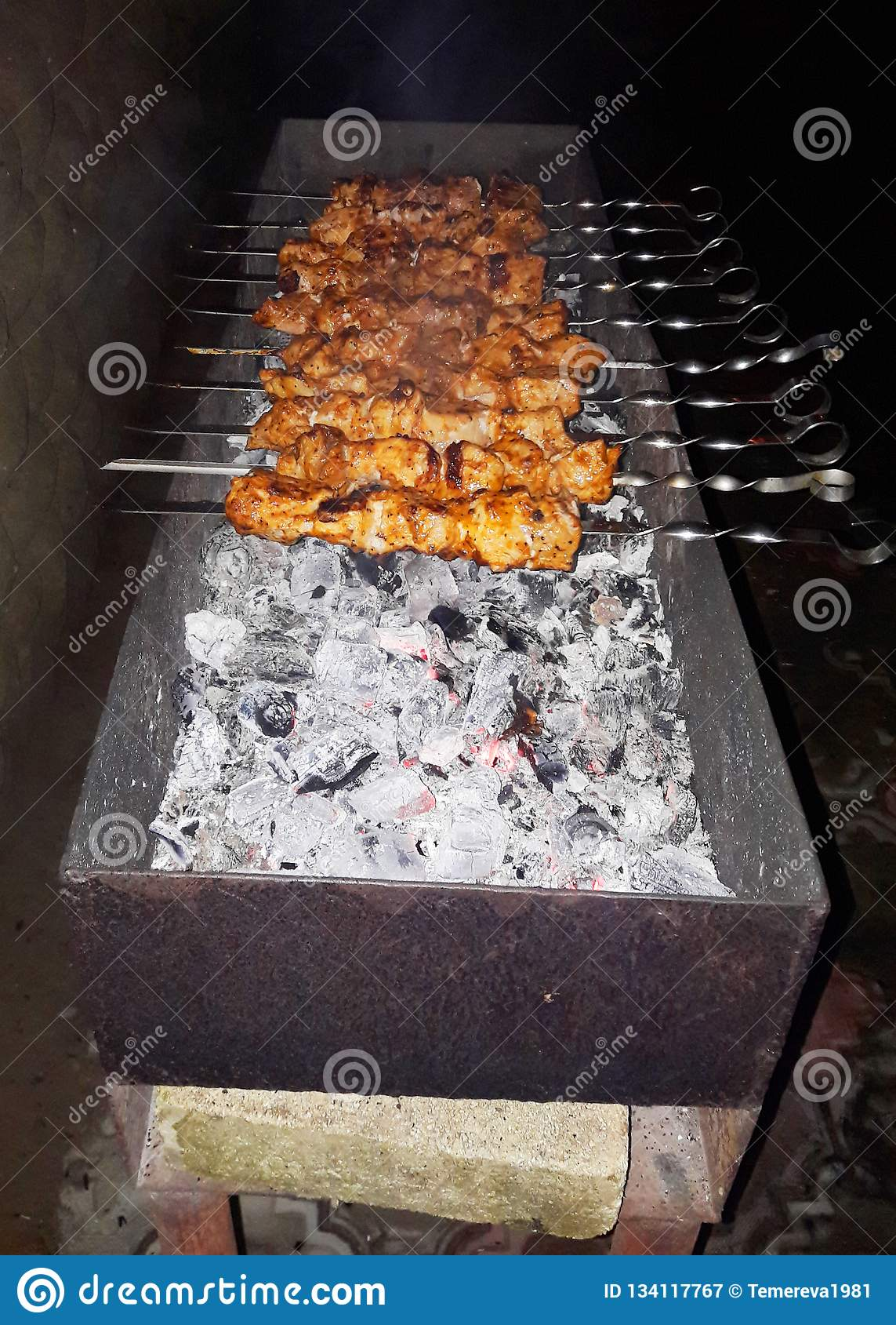 Bbq-kött Galler utomhus grillfestgallerdelicions