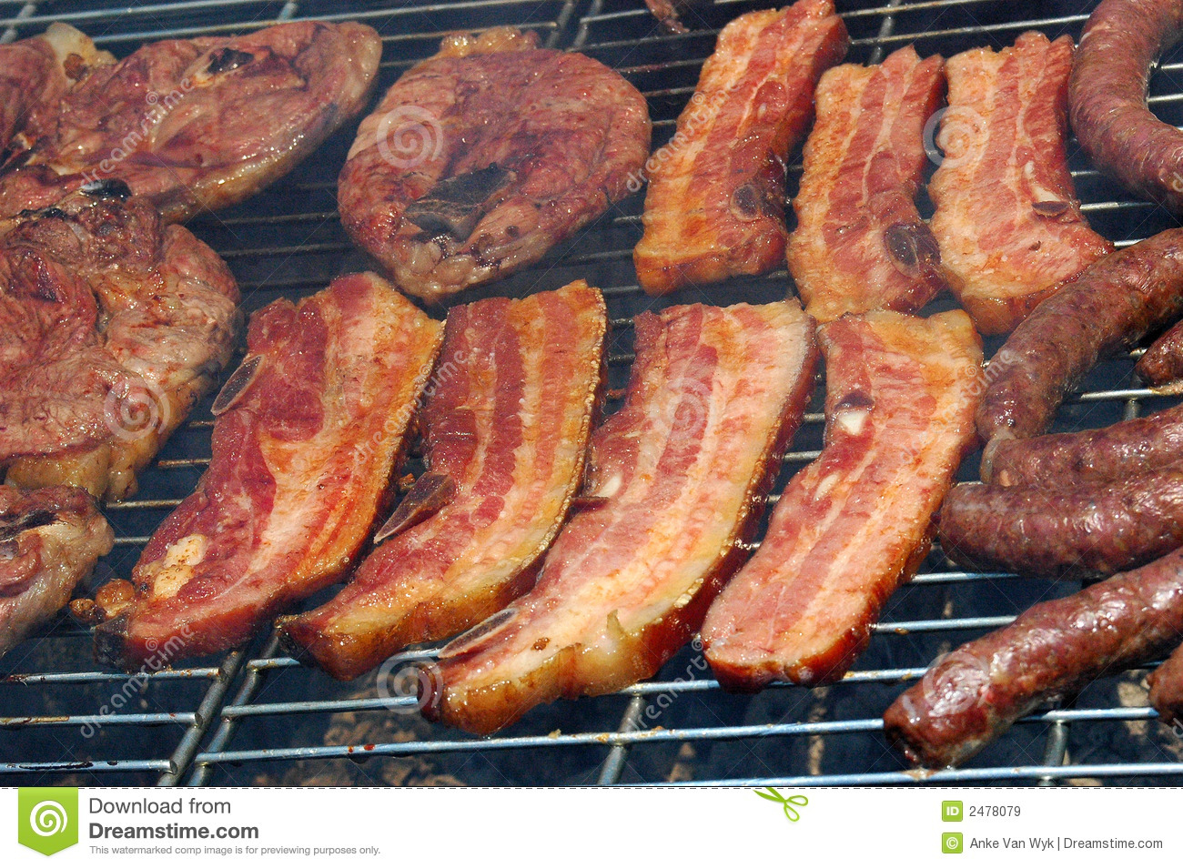 Bbq-meat