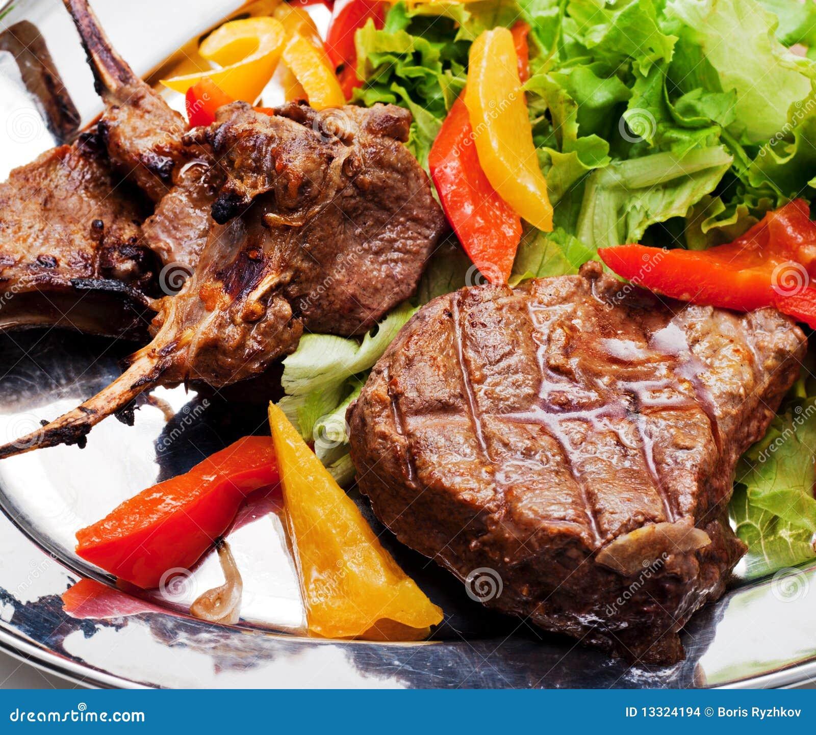 Второе блюдо мясо с фото