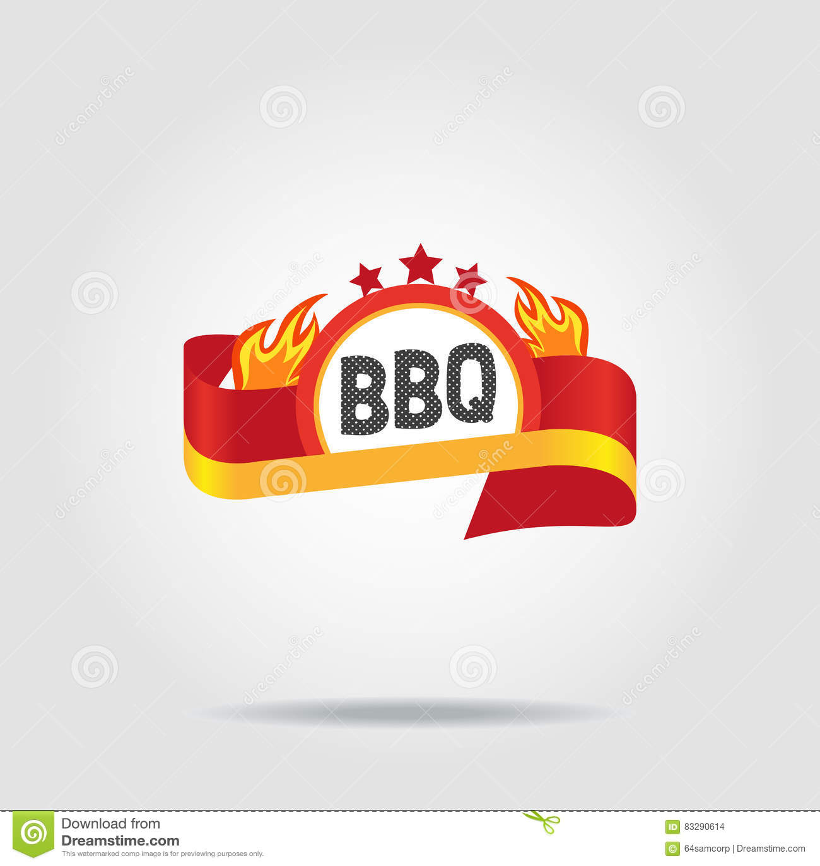 BBQ odznaki ikona