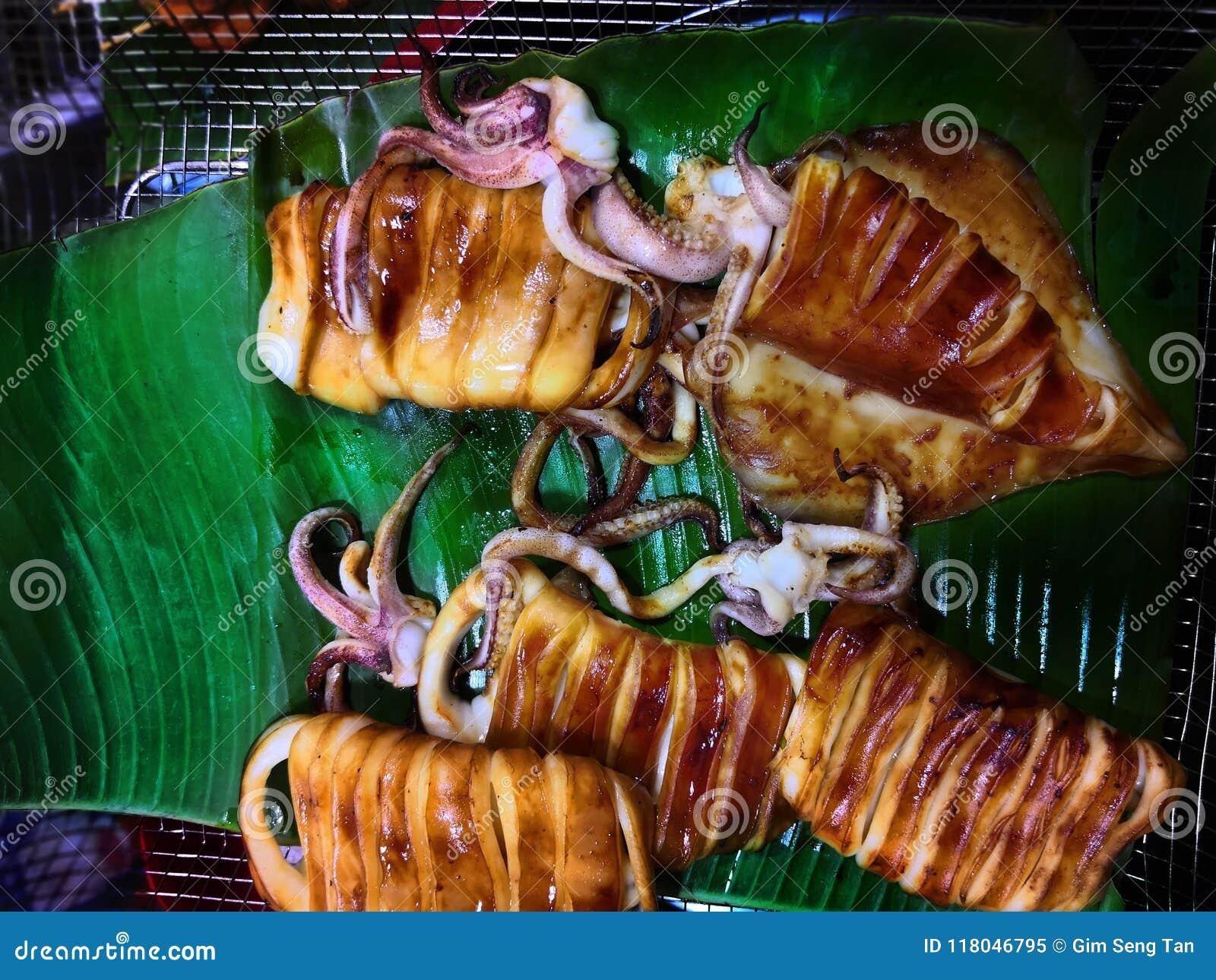 BBQ owoce morza serie