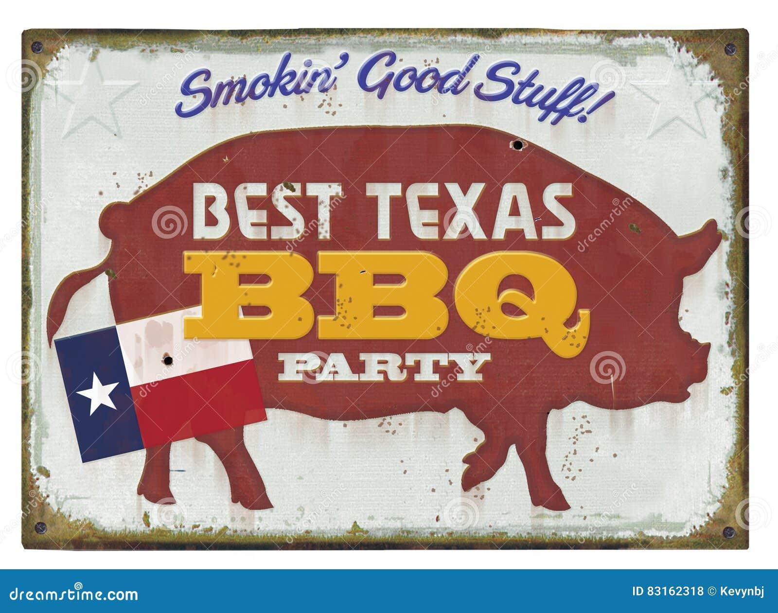 BBQ Partijteken