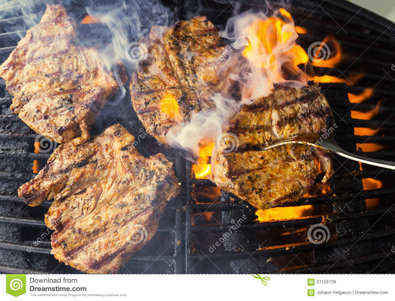 how to cook chops on bbq