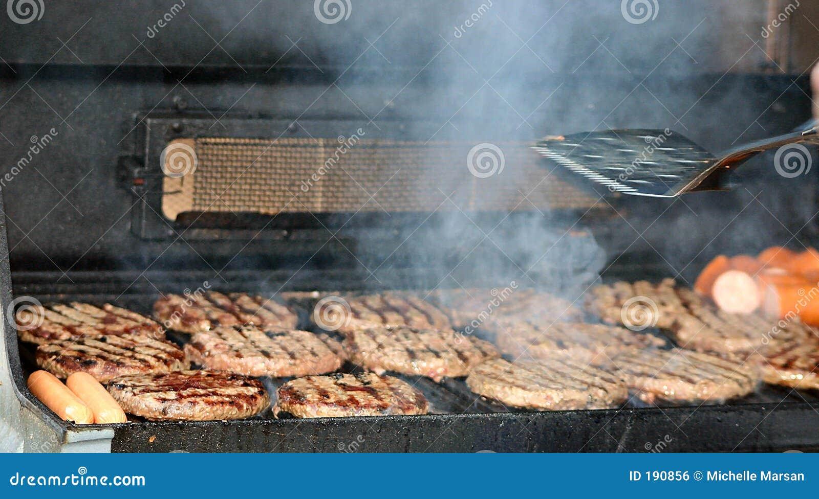 BBQ pour le dîner