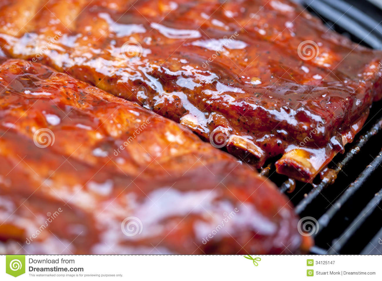 bbq-ribs-st-louis-style-glazed-sauce-341