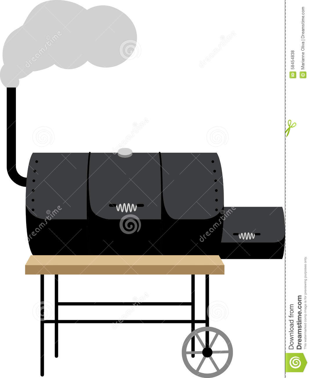Have a great cookout with a smoker on a grillers apron.