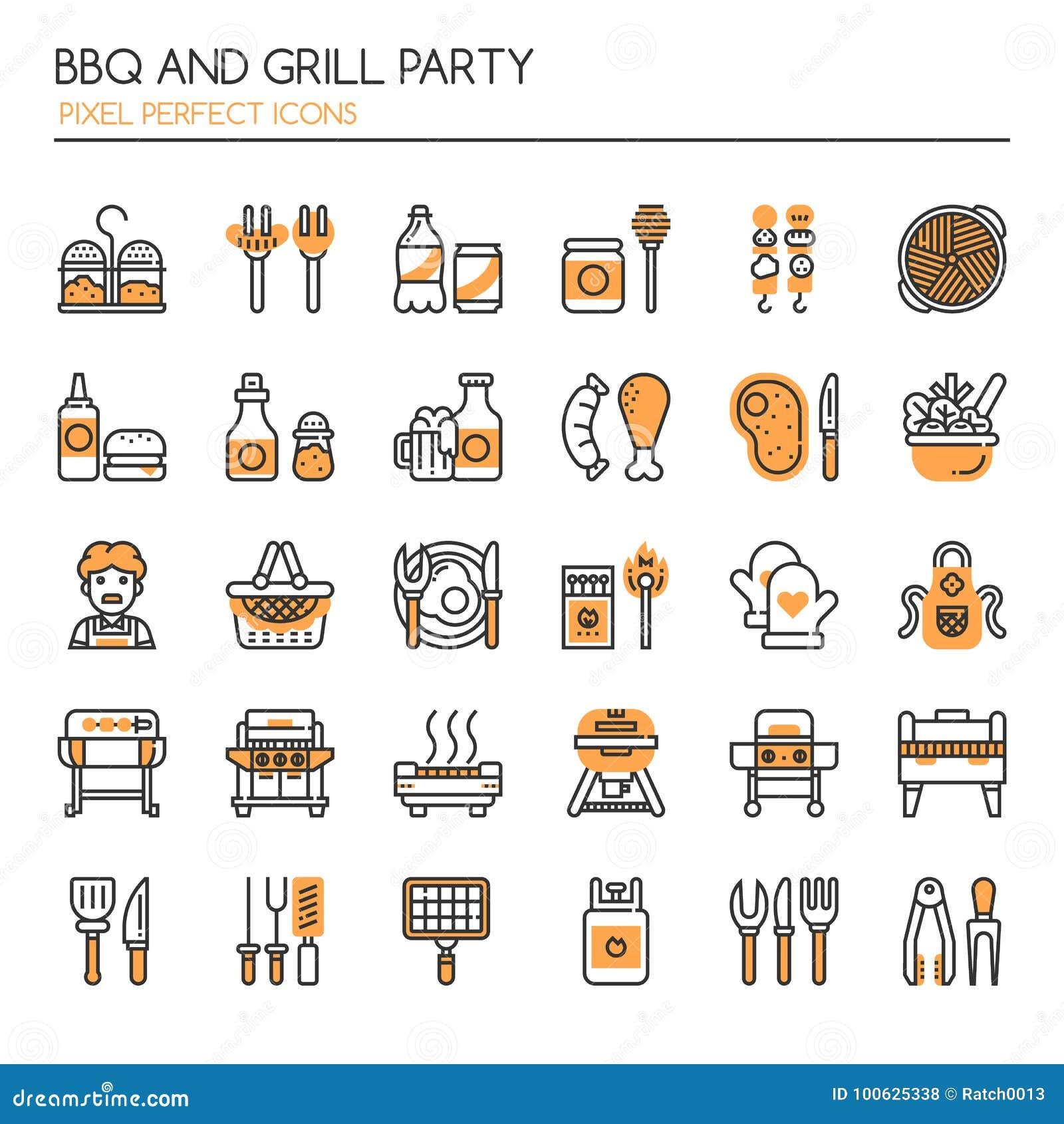 BBQ und Grill-Partei