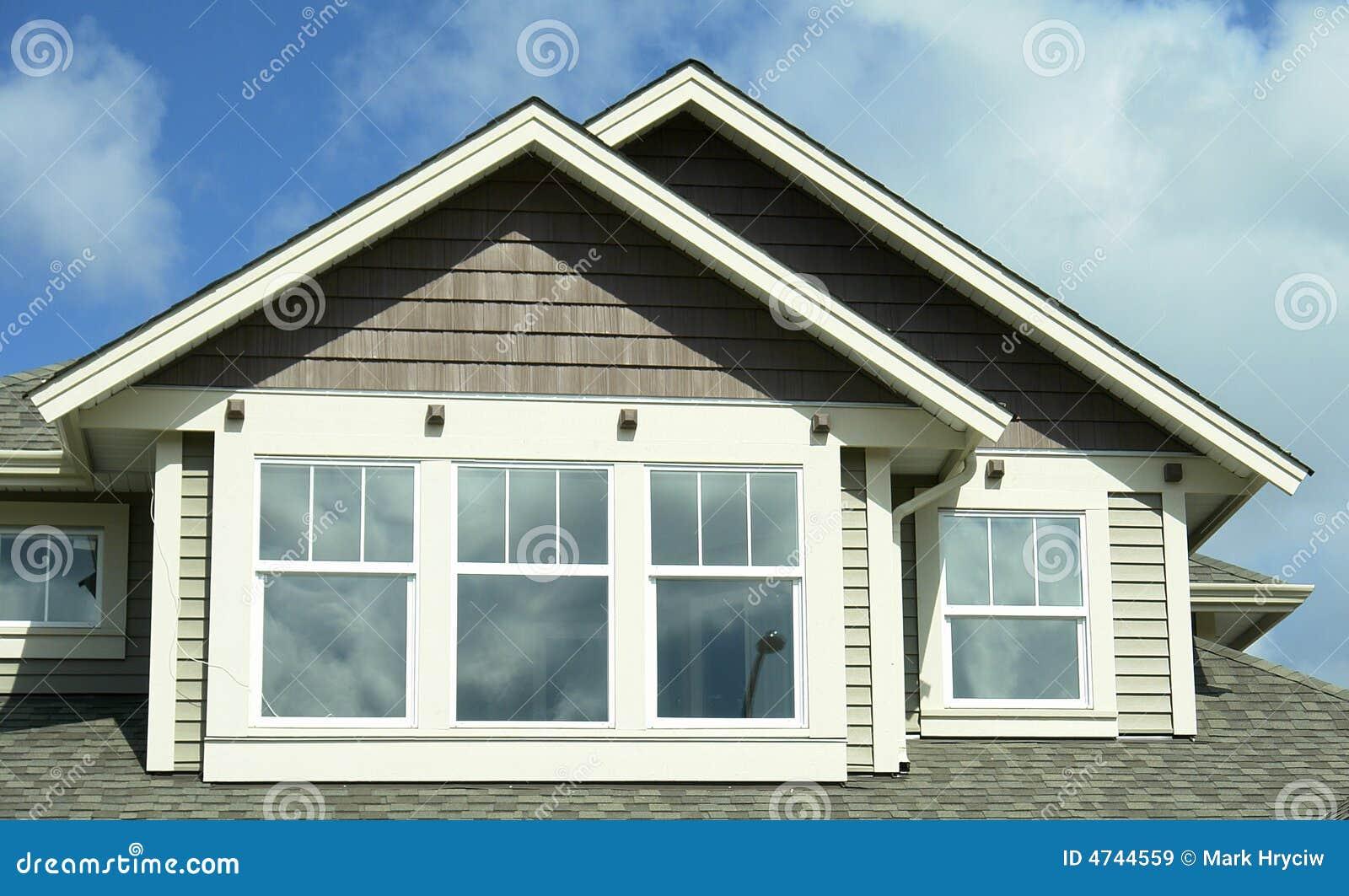 BC外部家庭房子房屋板壁
