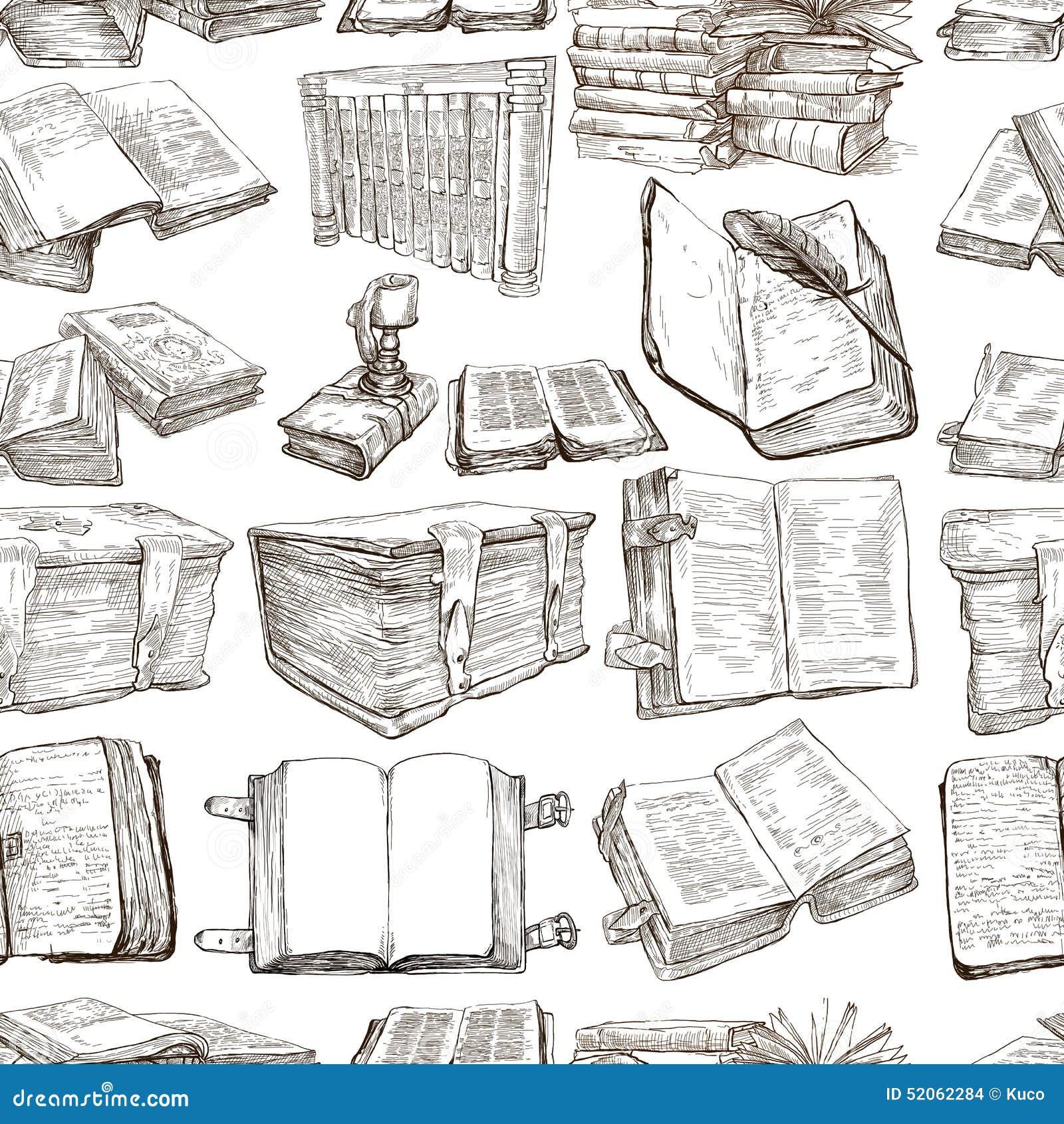 Bücherregal gezeichnet  Bücherregale Für Bibliotheken: Bücherregal in der bibliothek ...