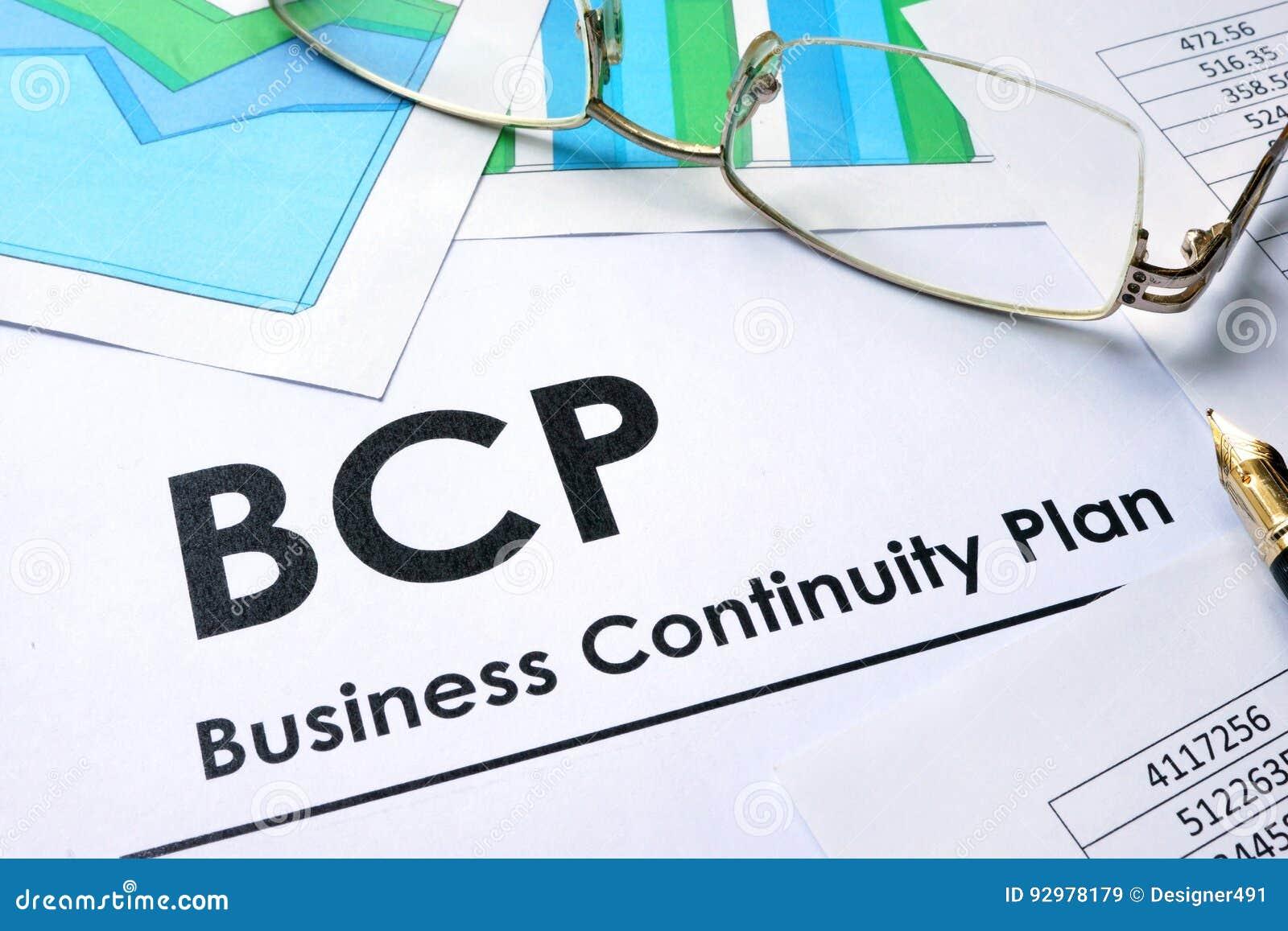 Business continuity plan help desk