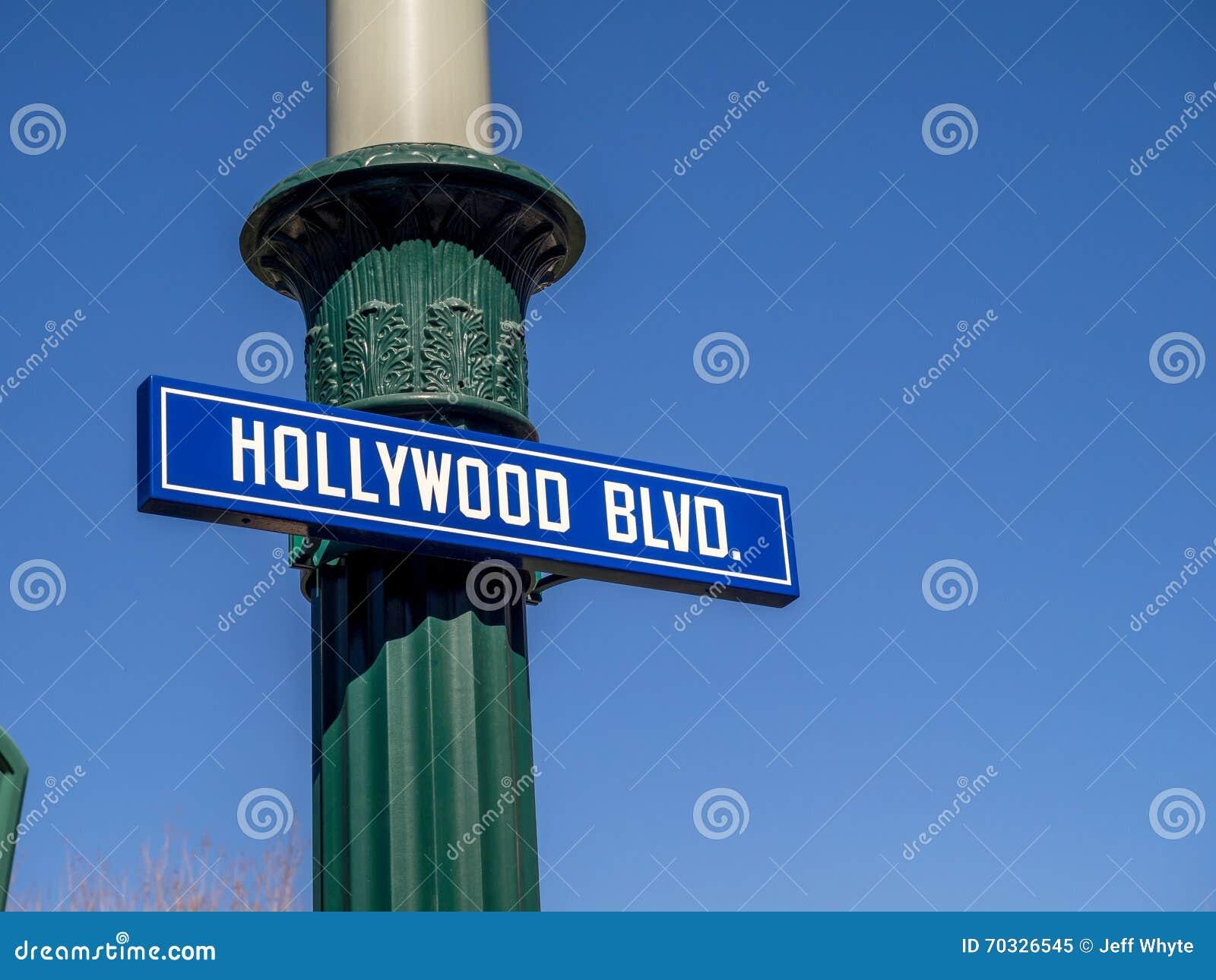 BD. de Hollywood aux studios de Hollywood en parc d aventure de Disney la Californie