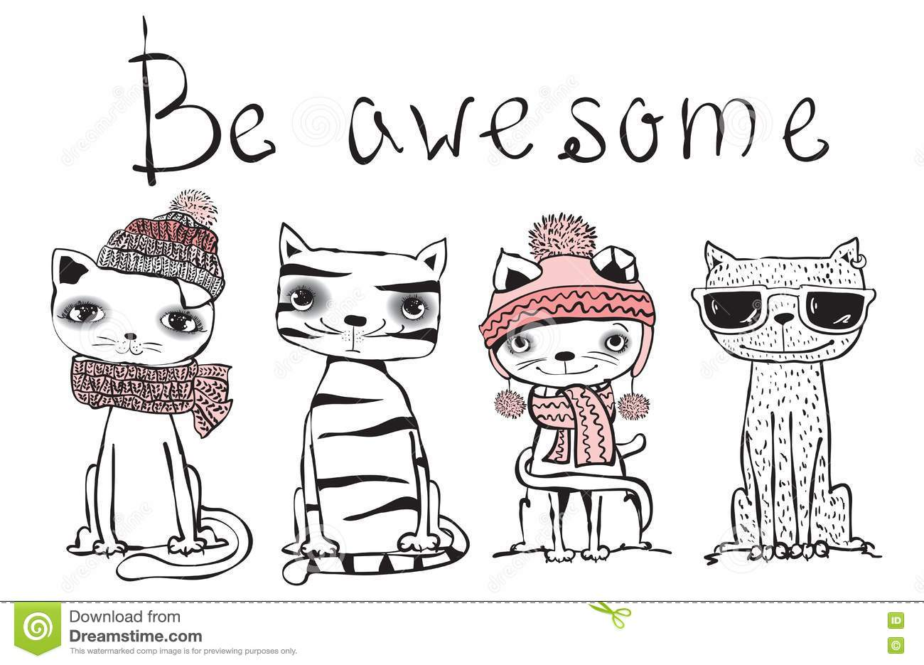 Be awesome cat