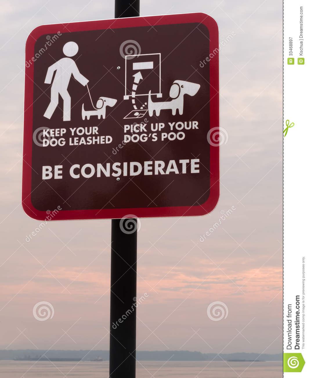be considerate sign royalty free stock photography image
