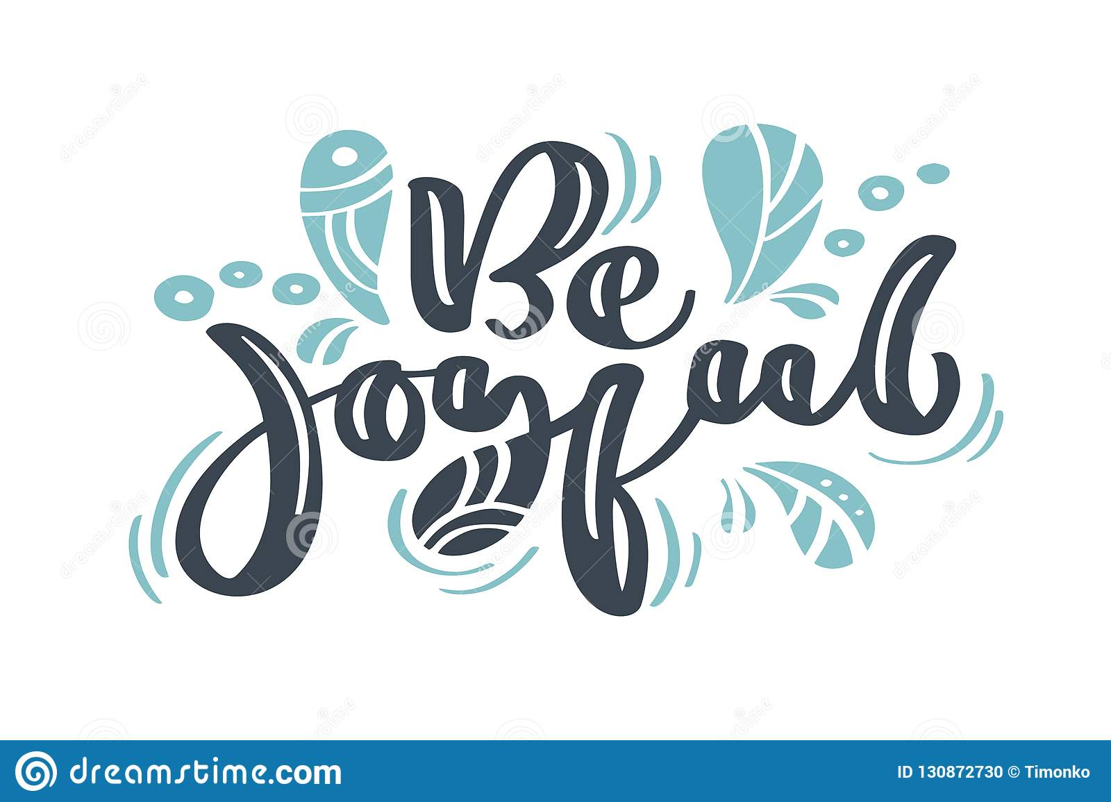 Be joyful Christmas vintage calligraphy lettering vector text with winter drawing scandinavian flourish decor. For art