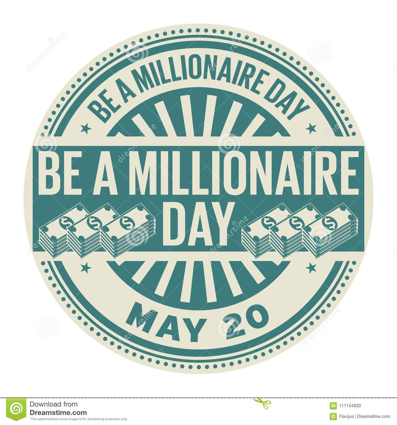 Image result for be a millionaire day may 20
