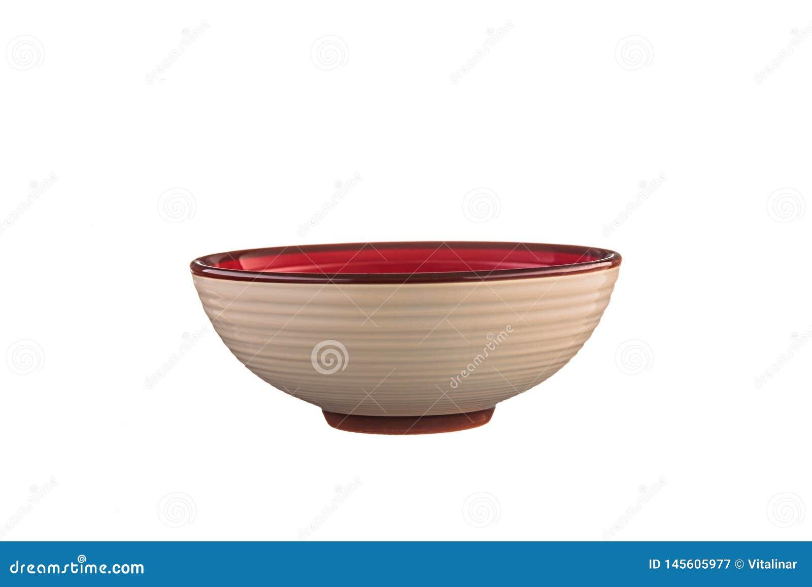 Be?owy ceramiczny puchar