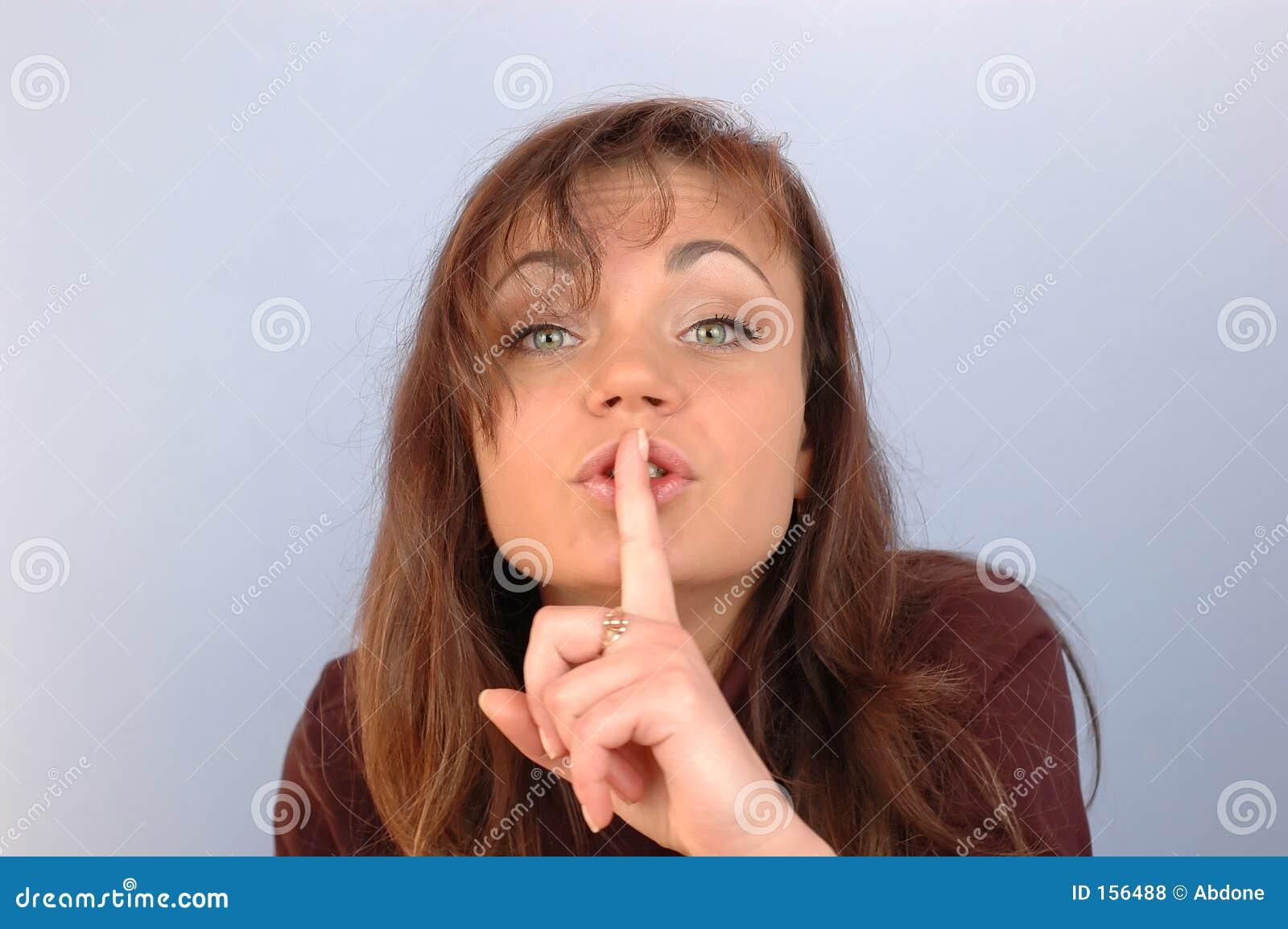 Be quiet...