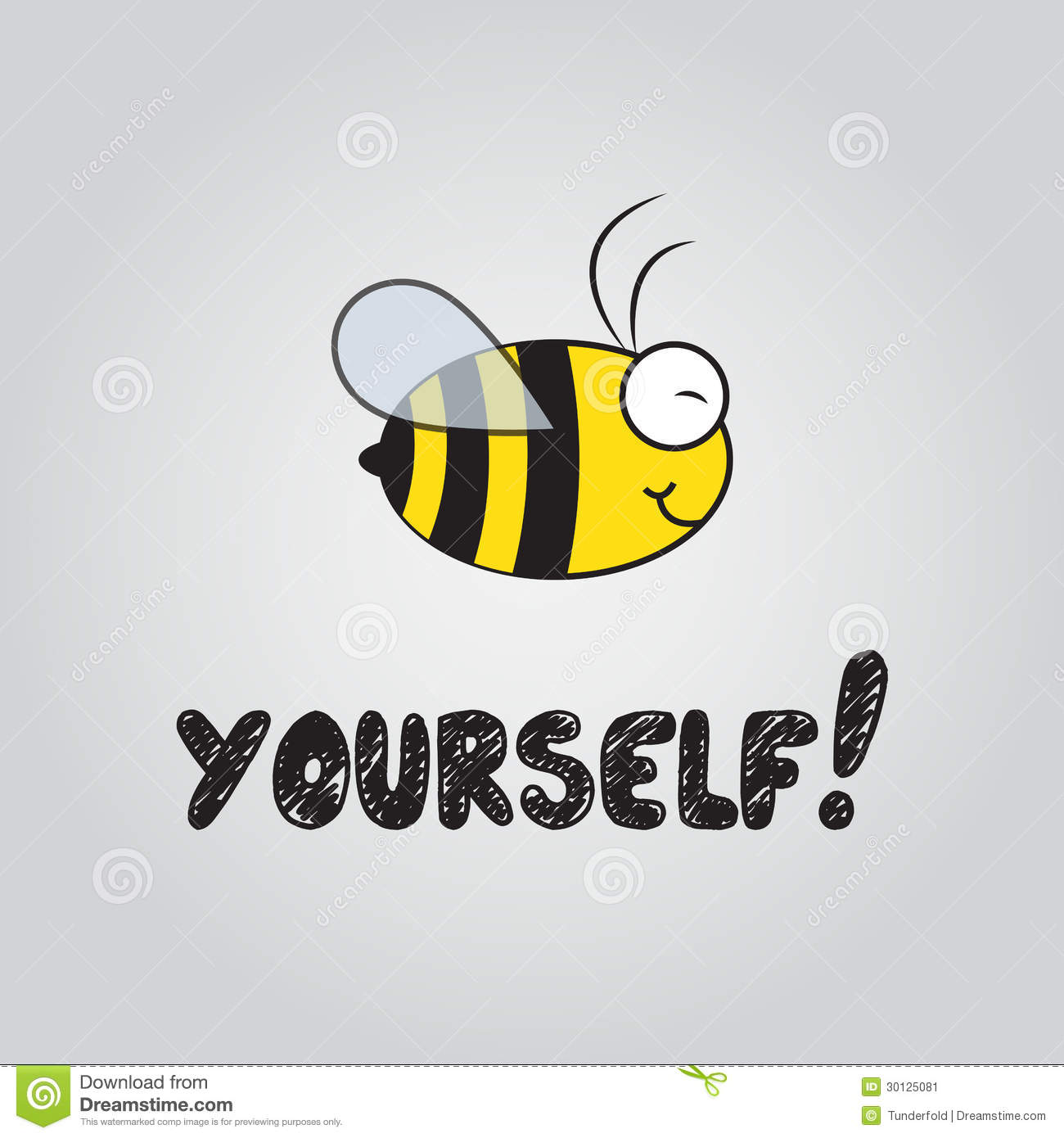 Be Yourself Stock Image Image 30125081