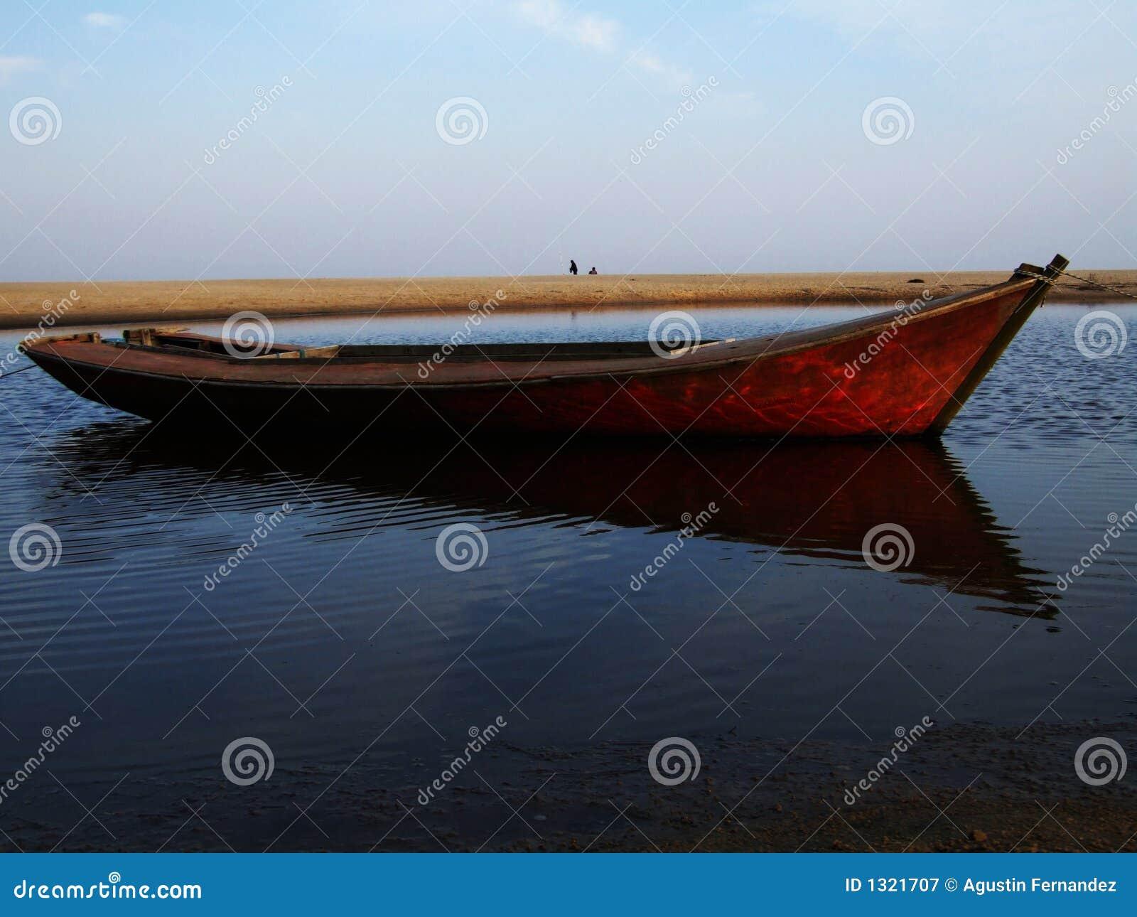 Beach łódź