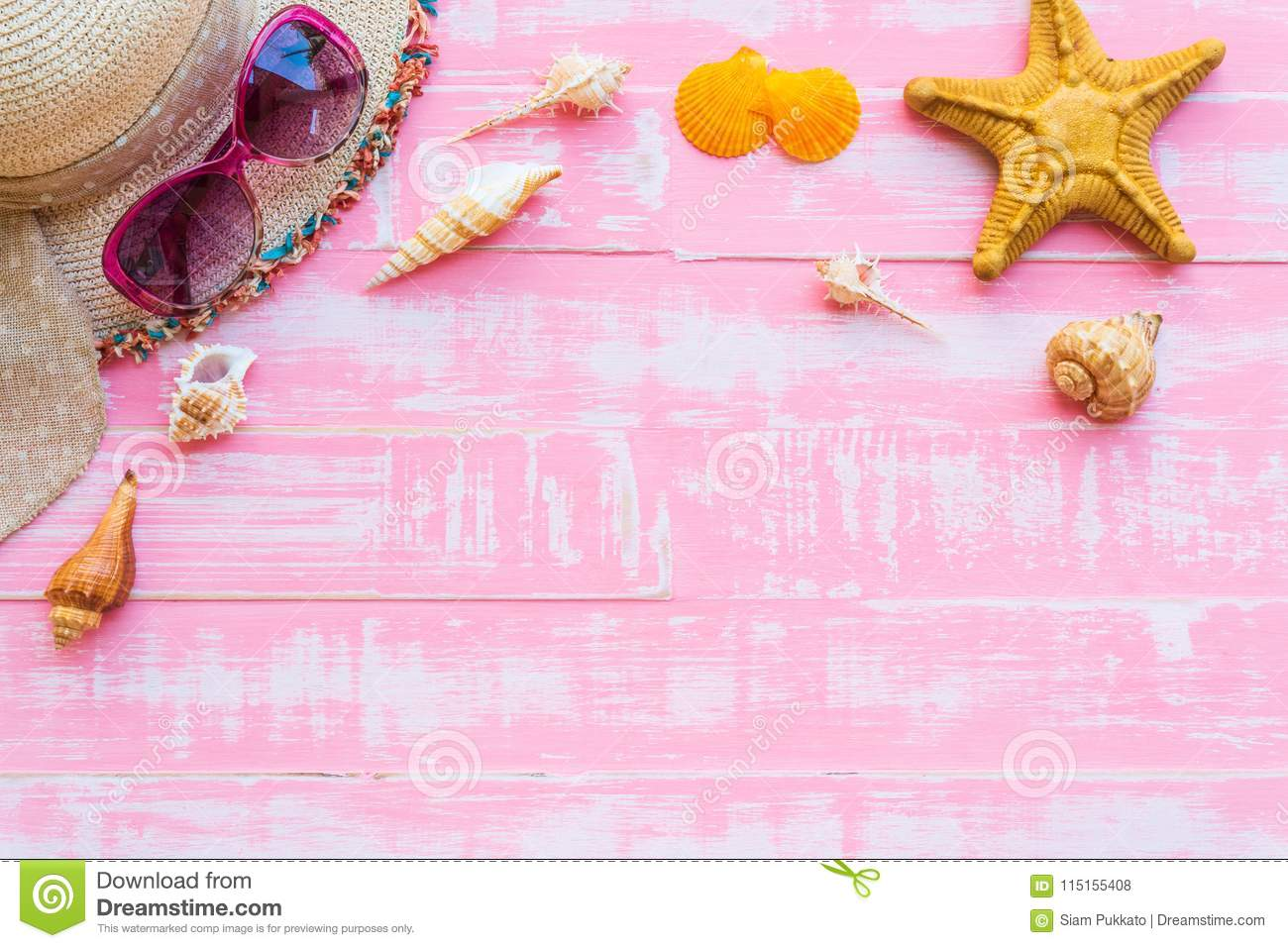05d0eaf41a57 Summer Holiday And Vacation Concept. Stock Photo - Image of pastel ...