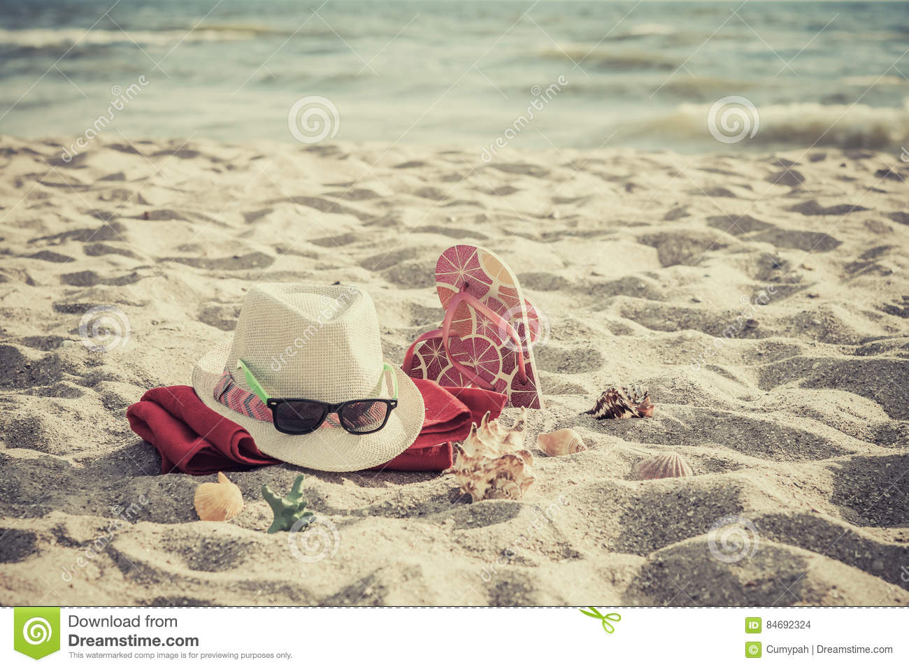 add8f0a94066 Beach Accessories On Sand