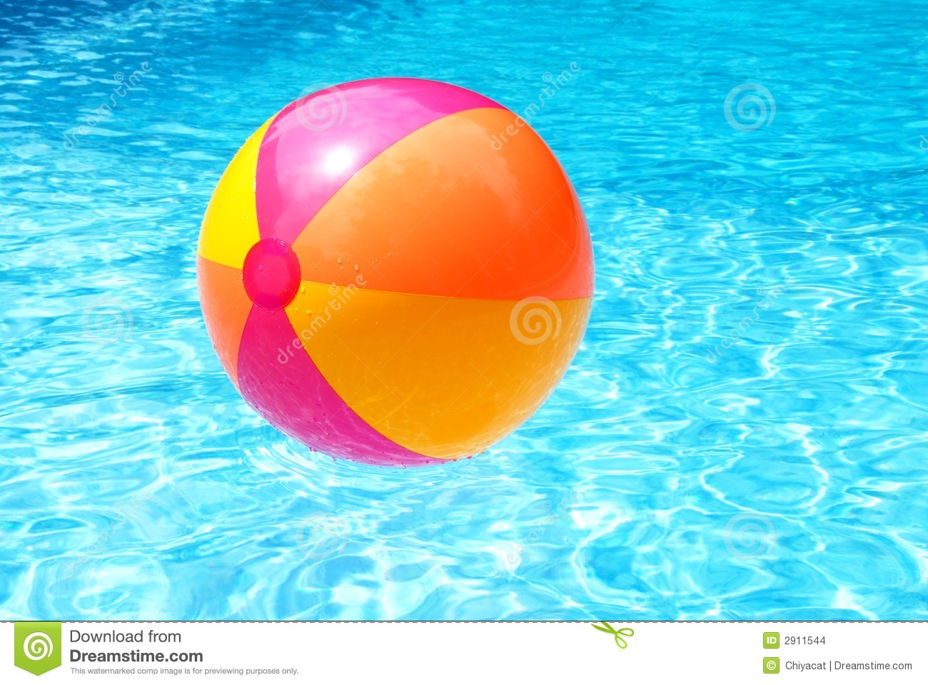 Pool Water With Beach Ball beach ball swimming pool stock photos, images, & pictures - 1,059