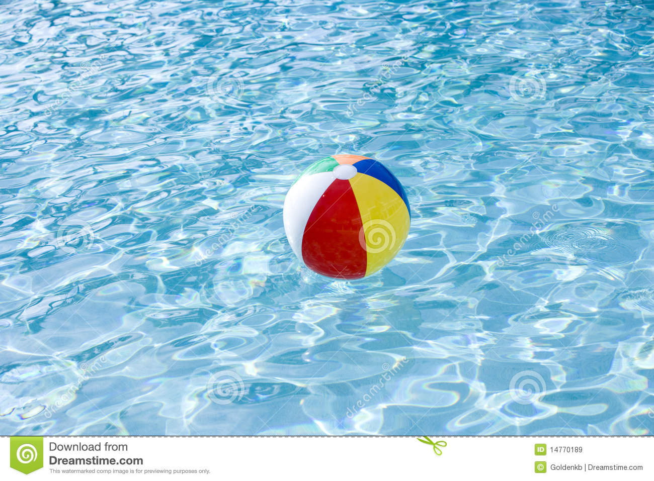 Pool Water With Beach Ball fine beach ball in water floating pool shot on red epic for ideas