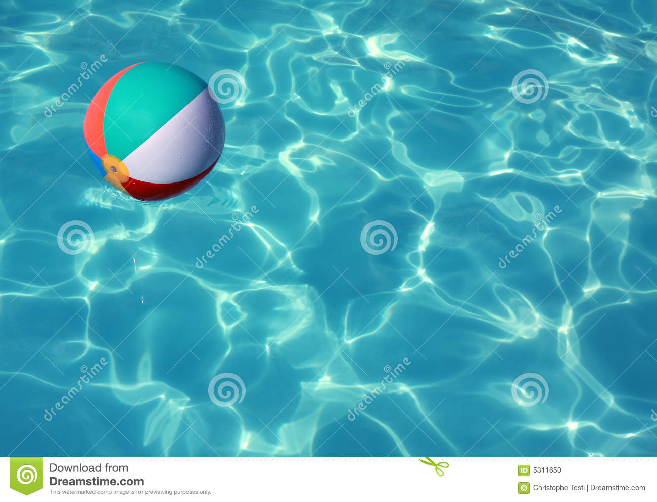 Swimming Pool Beach Ball Background boy in the pool with goggles stock photography - image: 33391502