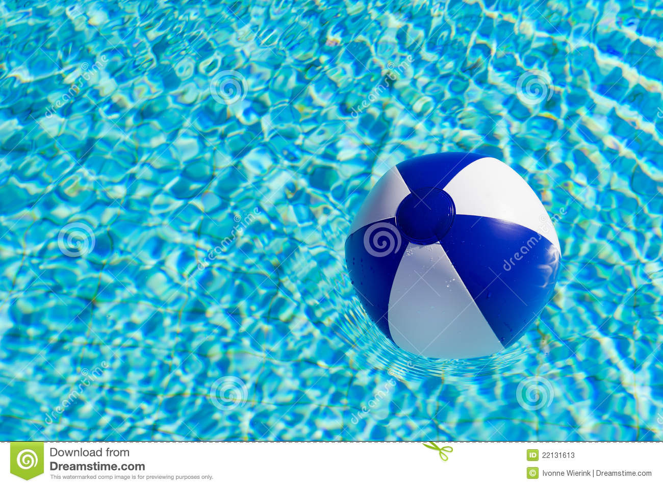 beach ball in pool. Beach Ball In Swimming Pool Stock Photography | CartoonDealer.com #38225870
