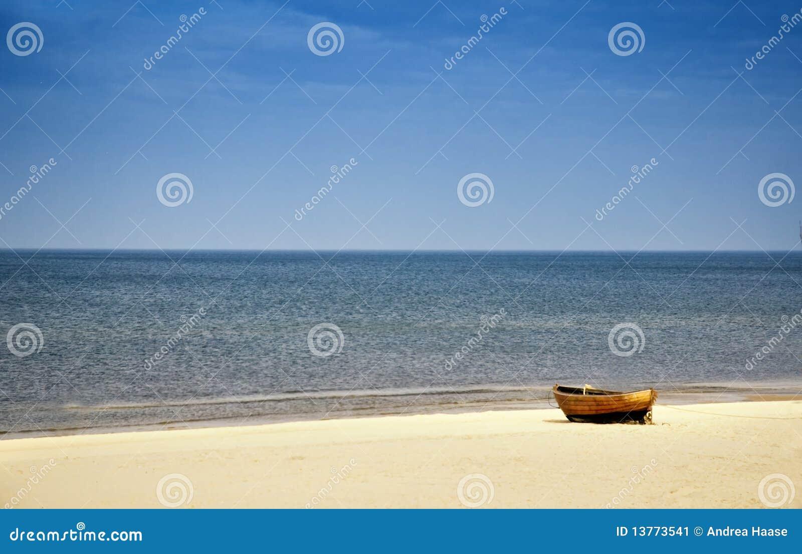Beach at Baltic Sea