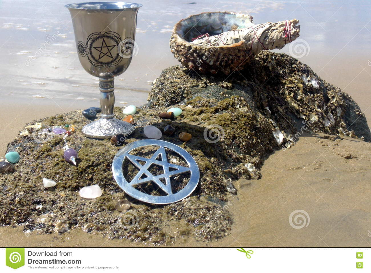 Beach Blessings 1 stock photo  Image of spiritual, smudge