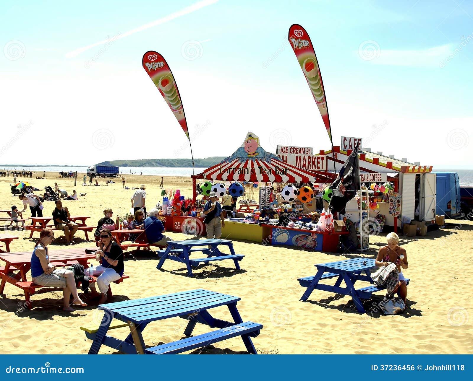 Cafe Weston Super Mare Beach