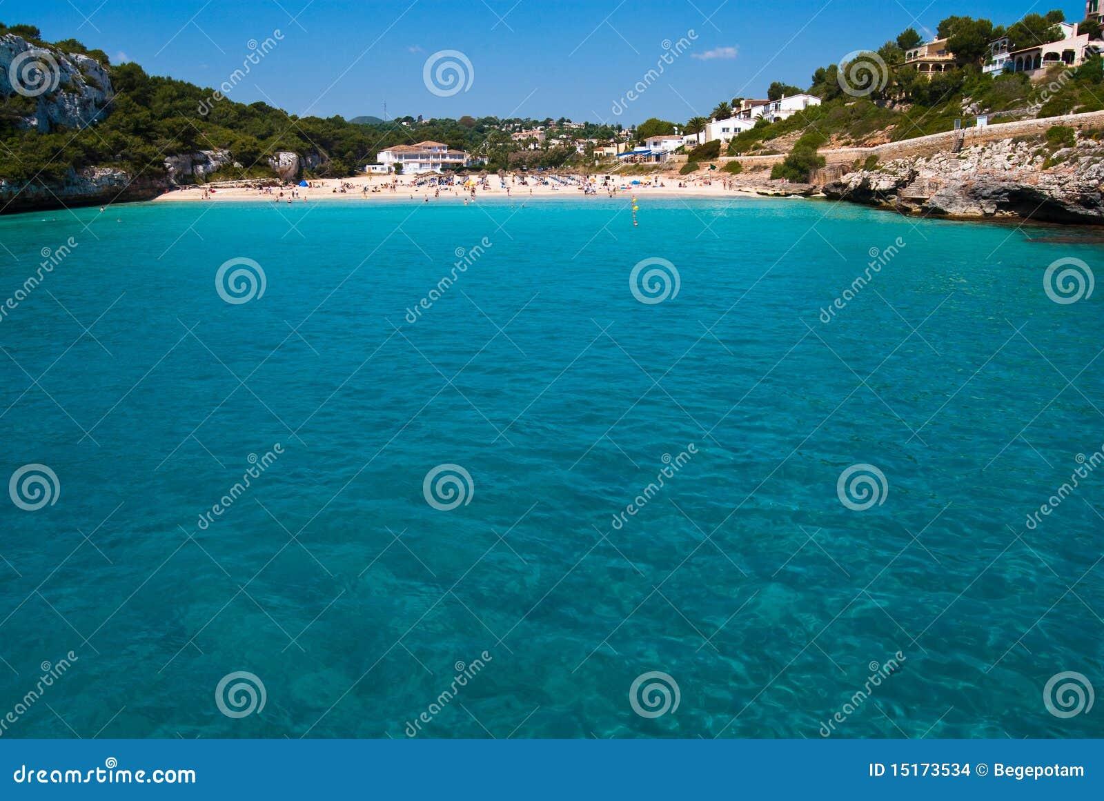 Cala Romantica Spain  city pictures gallery : The Beach Of Cala Romantica, Majorca, Spain Stock Images Image ...