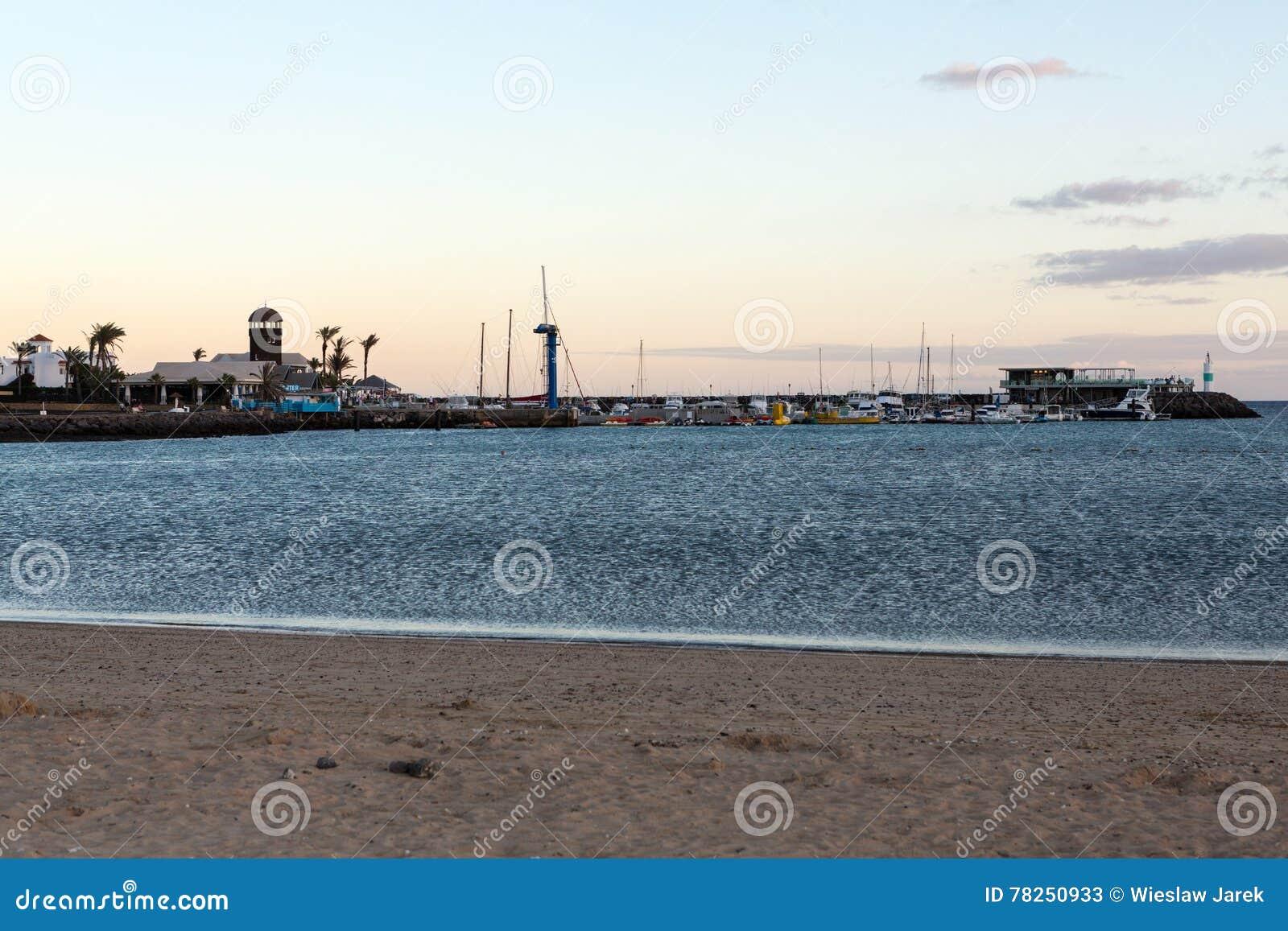 Beach caleta de fuerteventura fuste