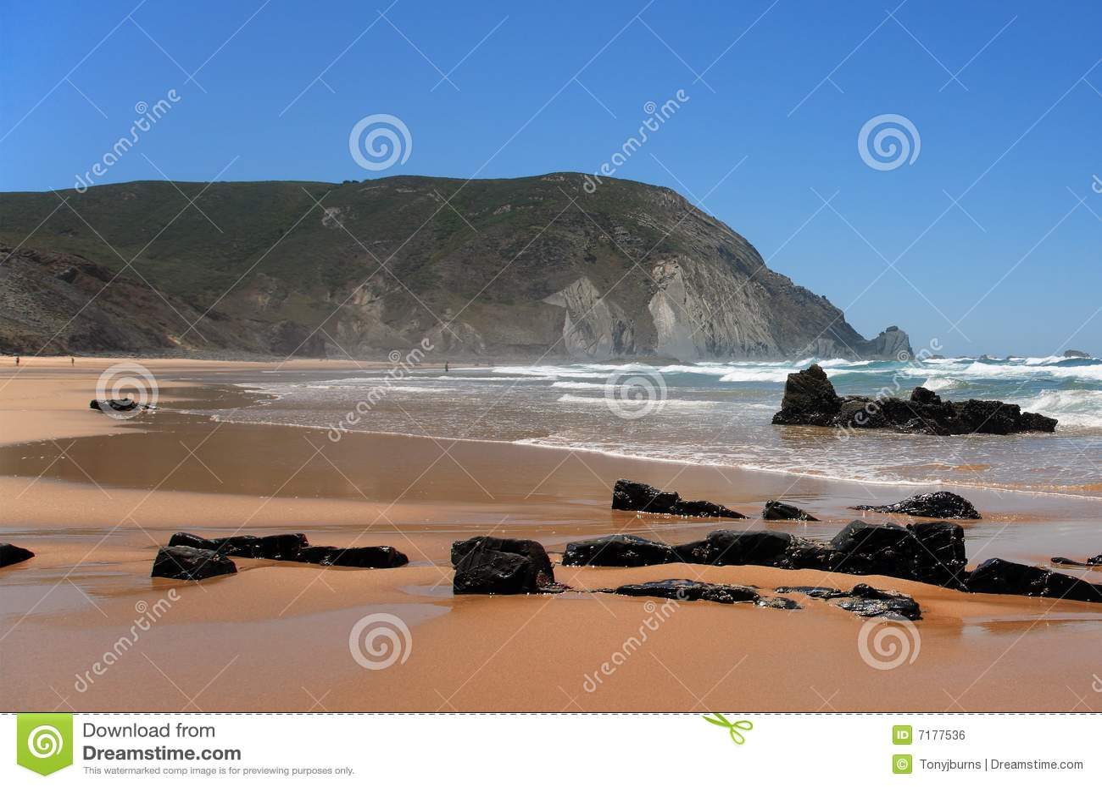 Beach castelejo do praia sagres