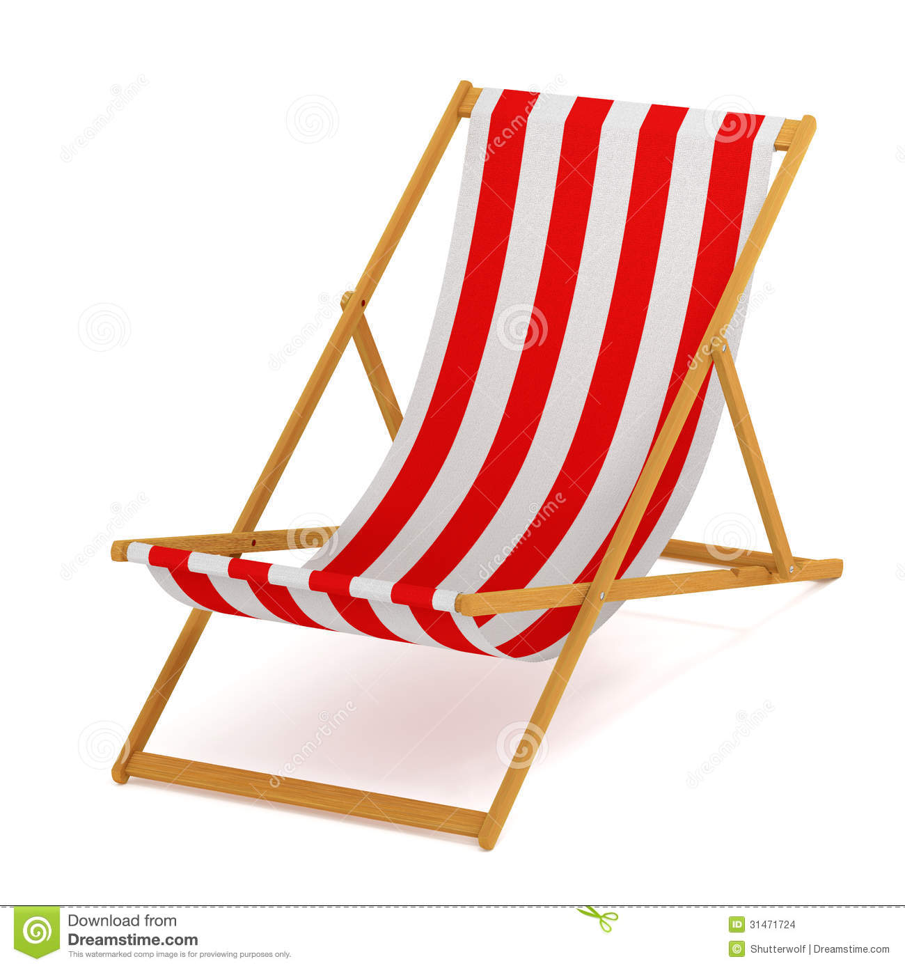Beach Chair Stock Images Image 31471724