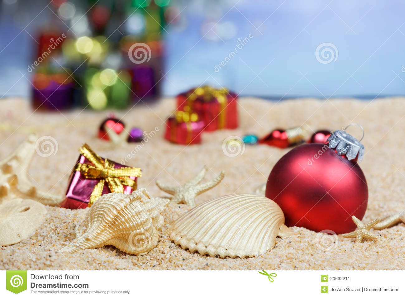 beach christmas decorations - Beach Christmas Decorations