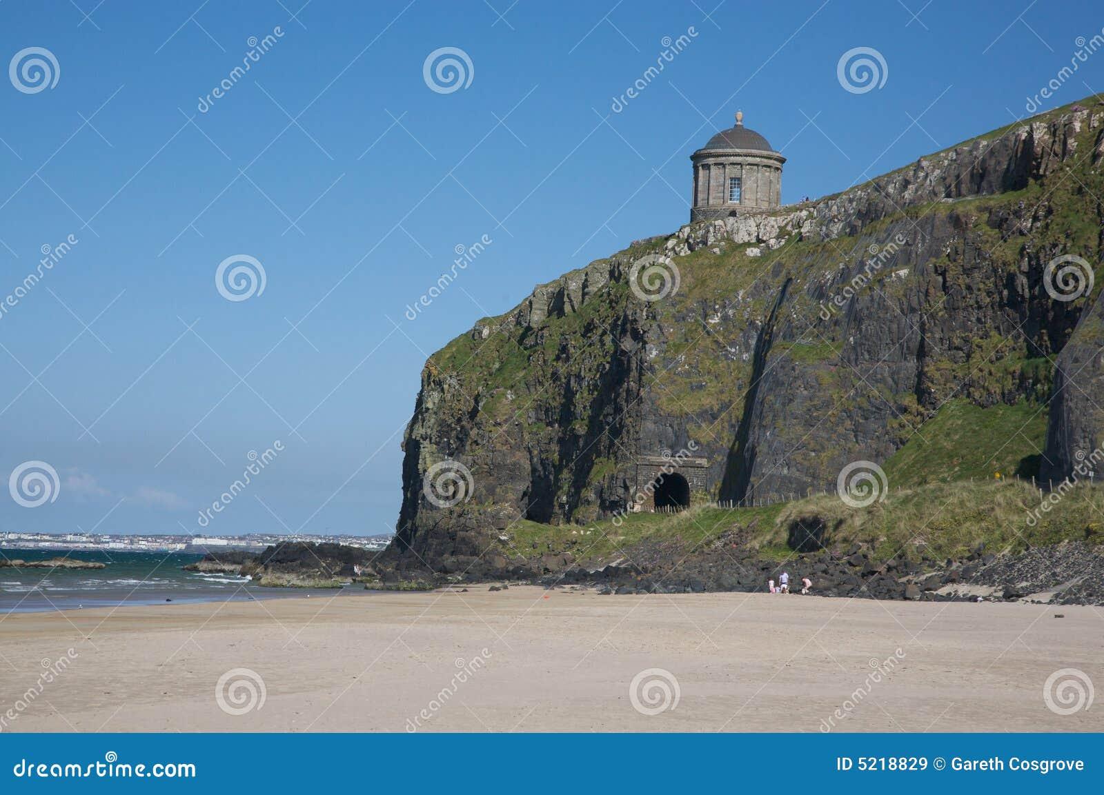 Beach, Cliff and Atrium