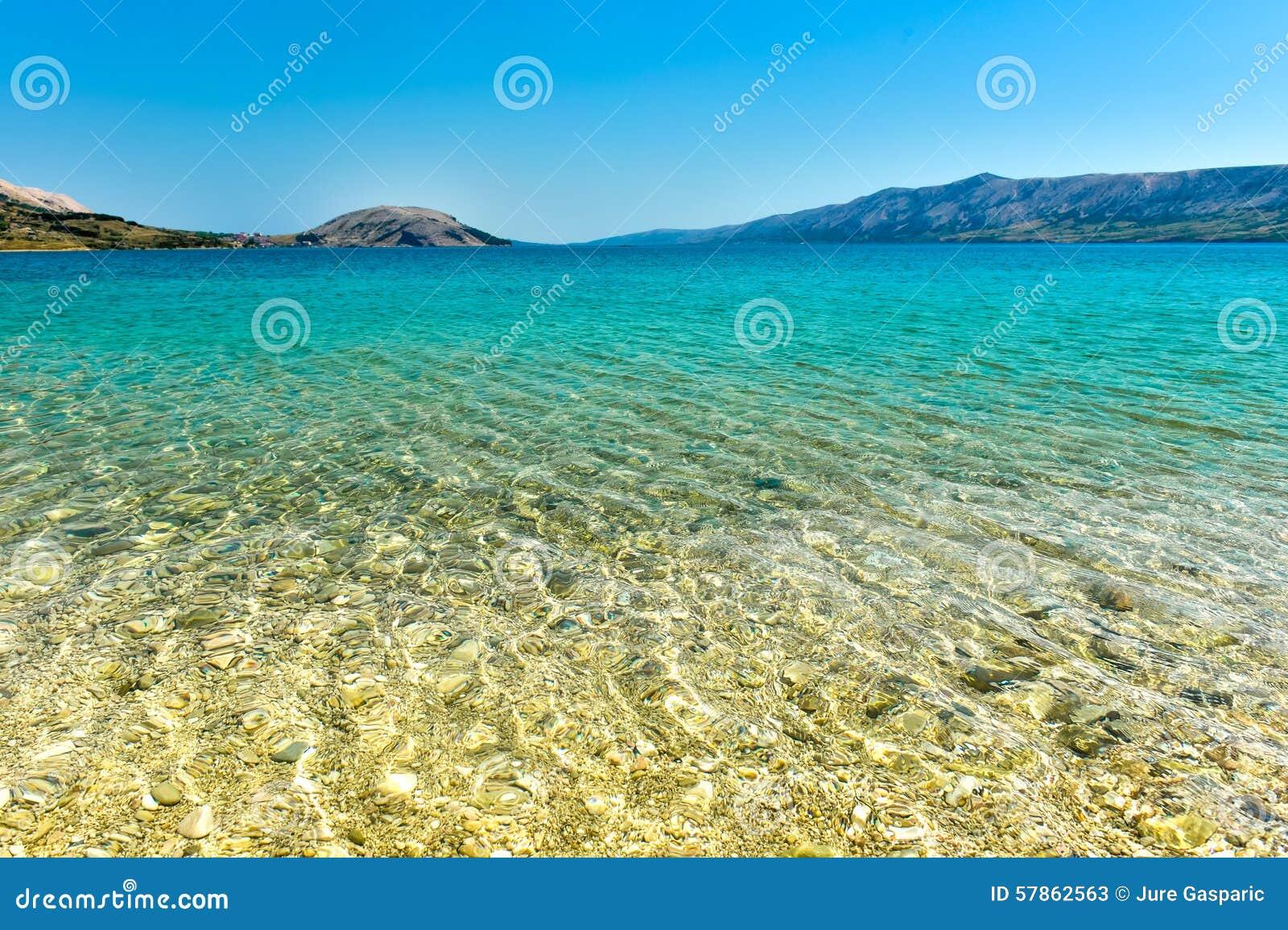 Adriatic sea beaches