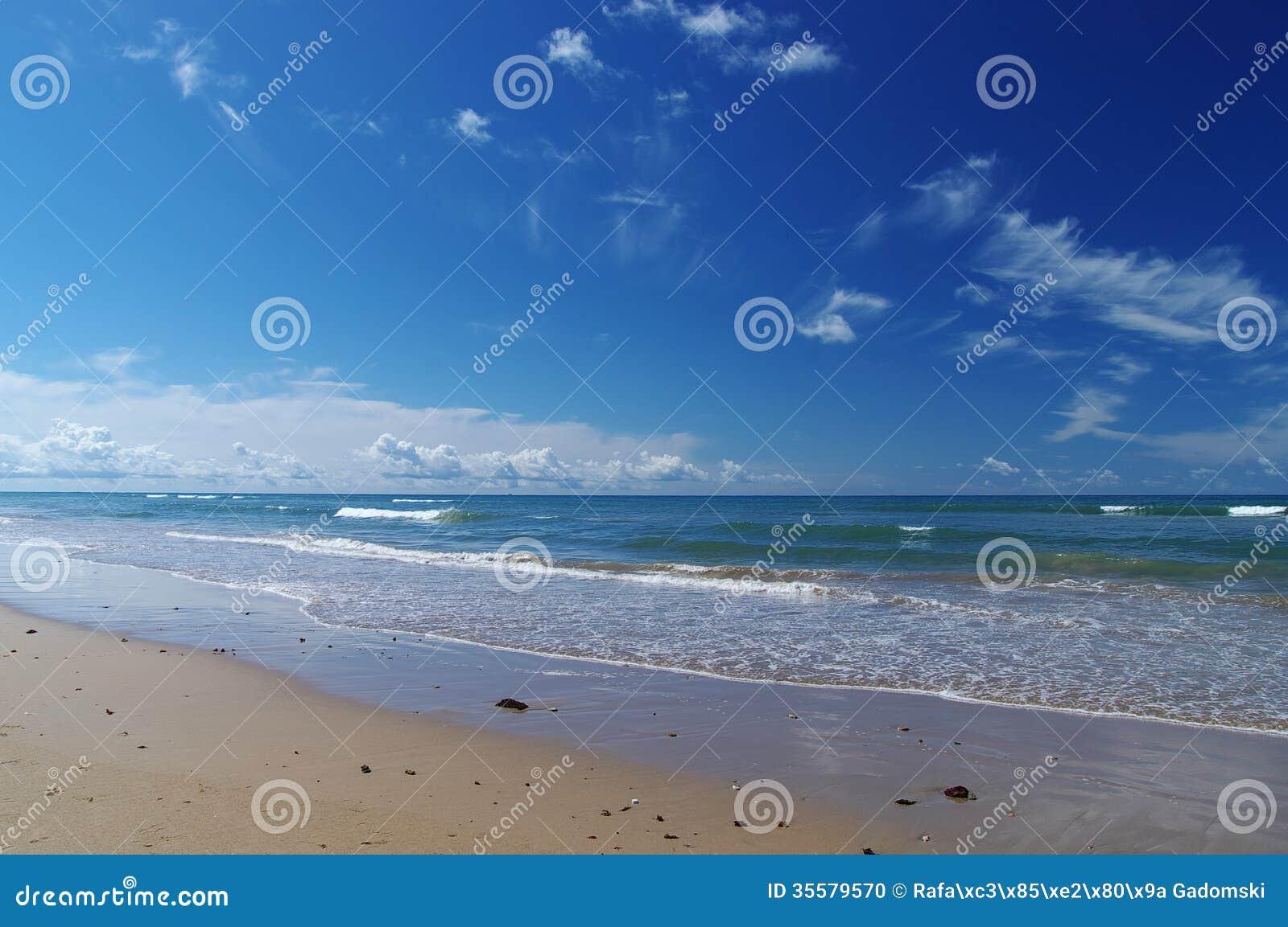 Beach of Costa de la Luz