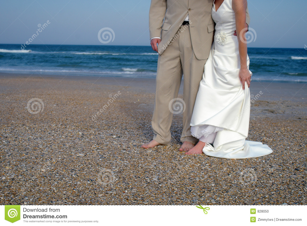 Beach couple