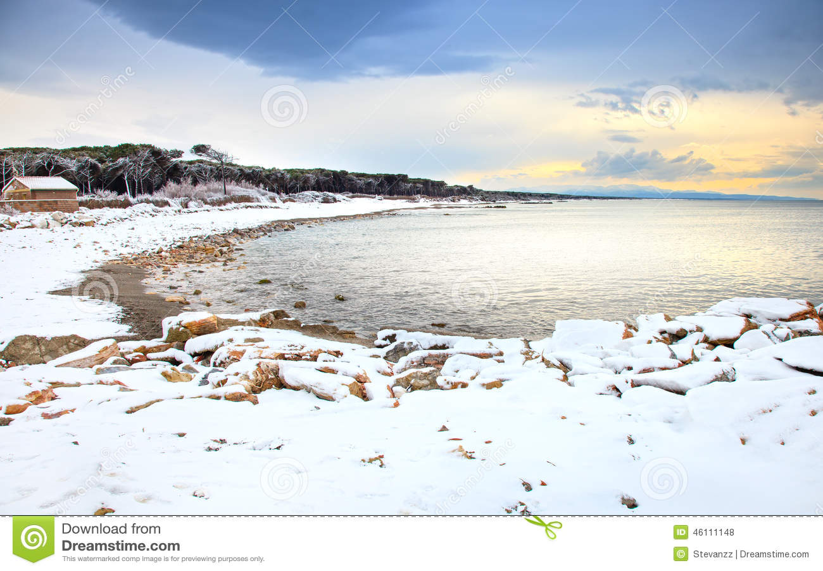 snow winter seasons sea - photo #48
