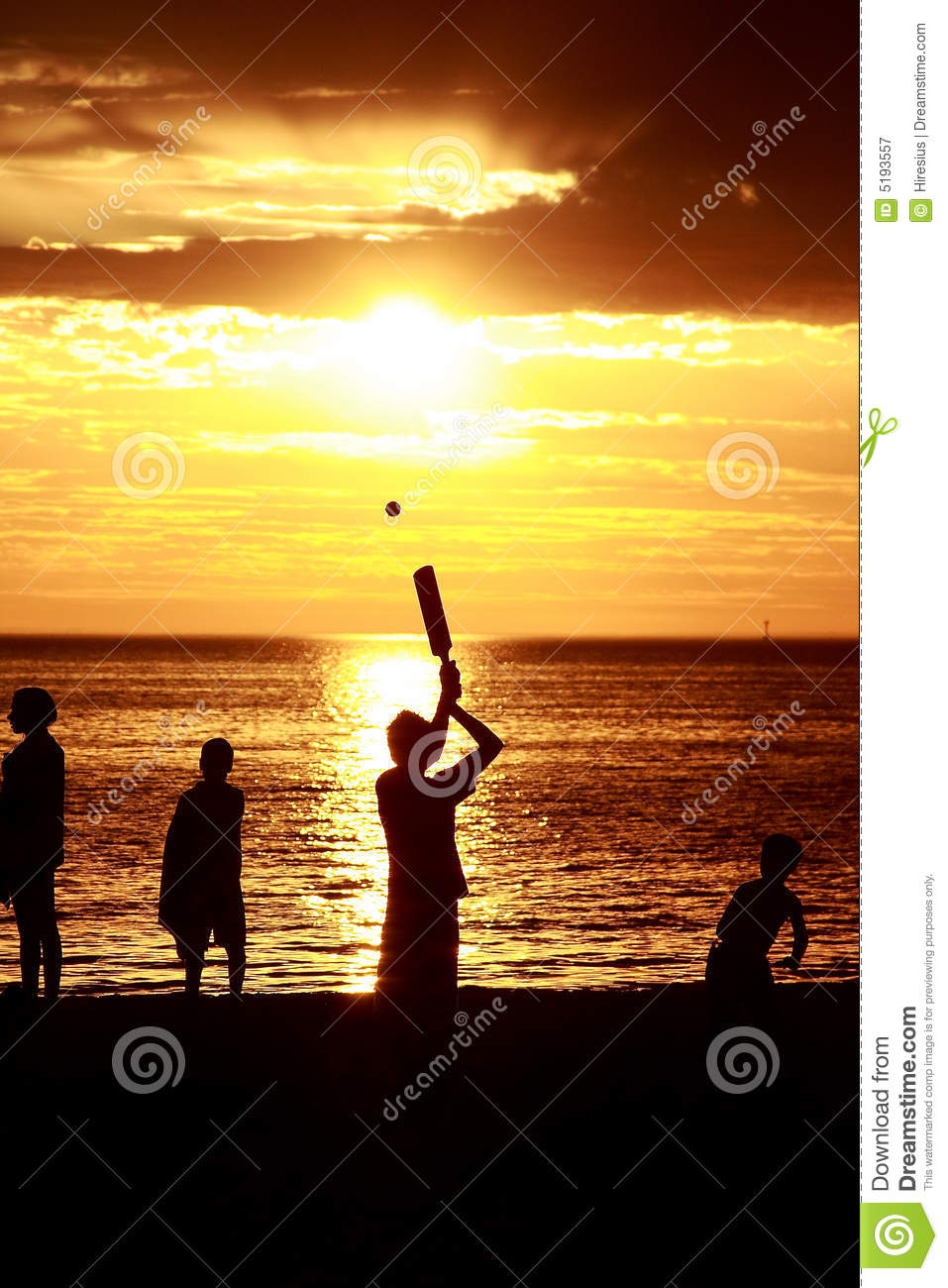 how to play beach cricket