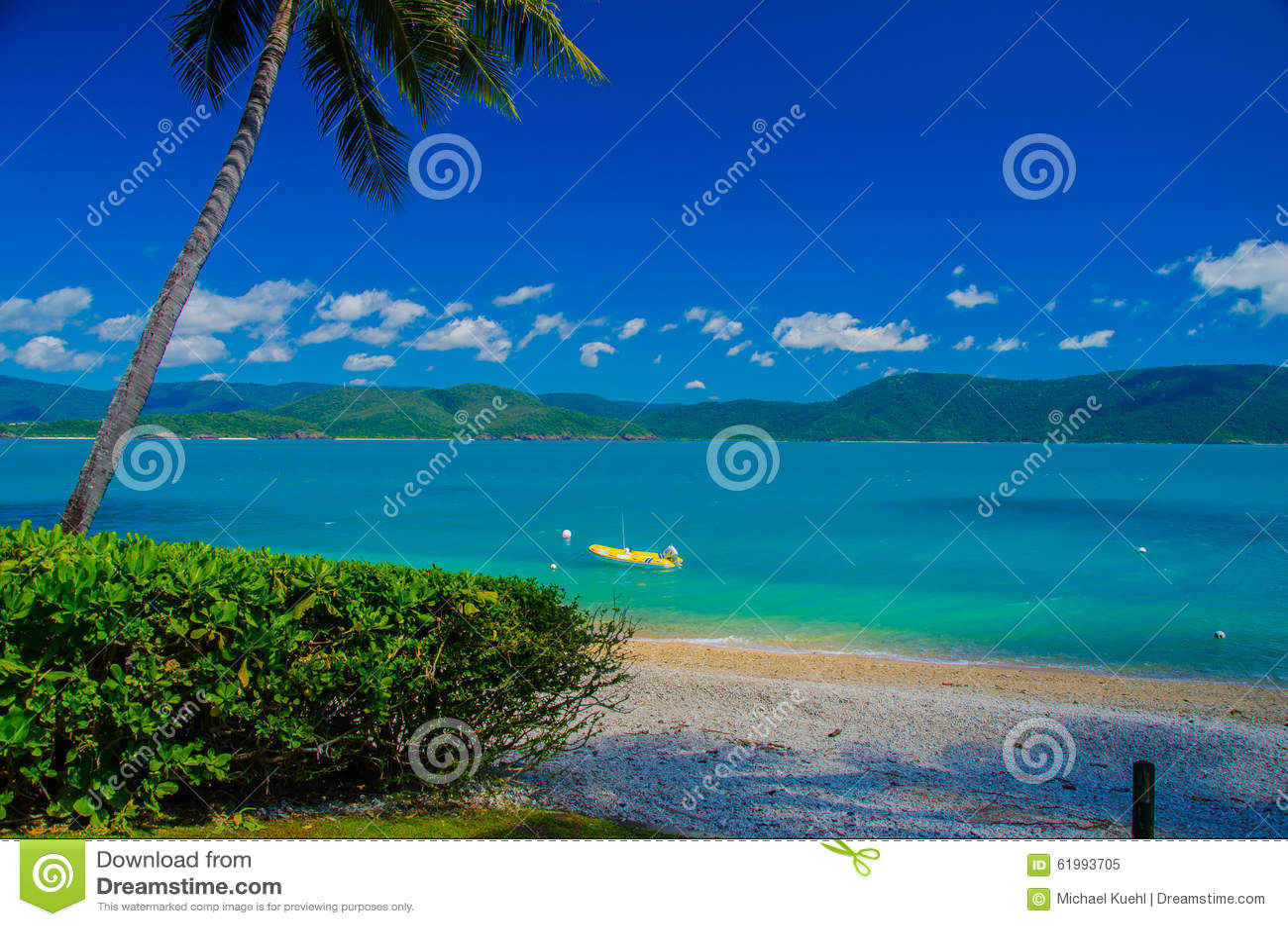 Beach on Daydream Island, Whitsunday Islands