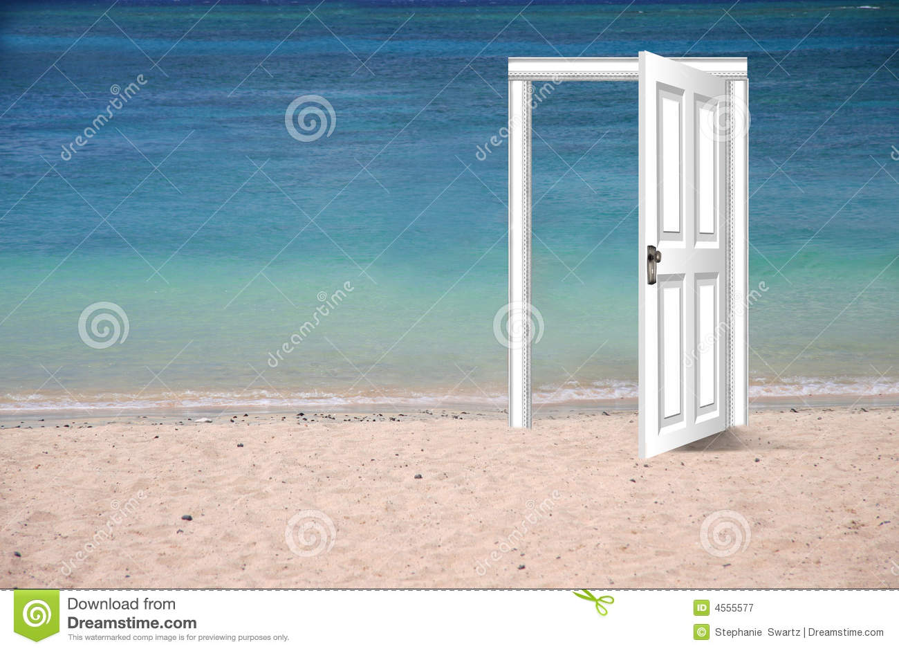 & Beach Door Stock Photo 4555577 - Megapixl pezcame.com