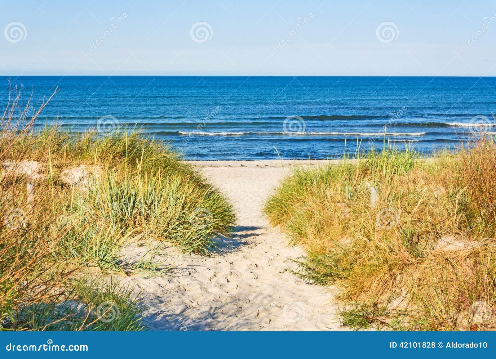 Beach dostępu
