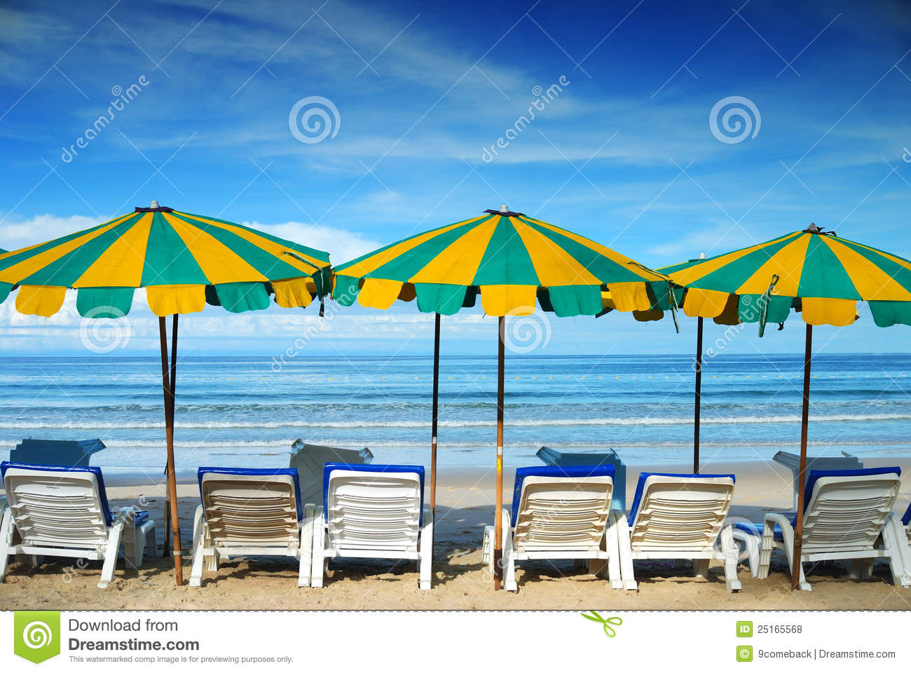 Beach Furniture Royalty Free Stock Photos Image 25165568